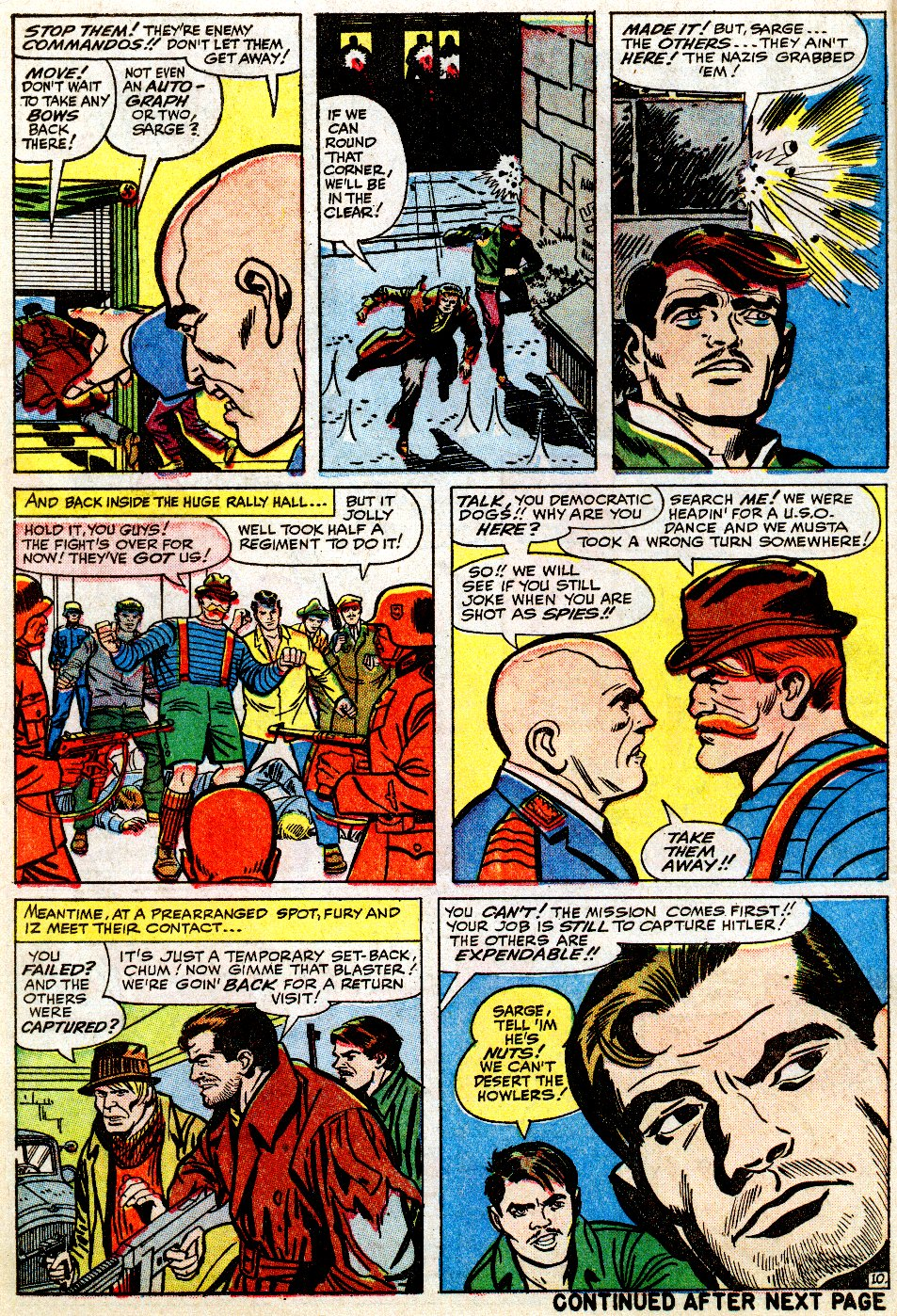 Read online Sgt. Fury comic -  Issue #9 - 14