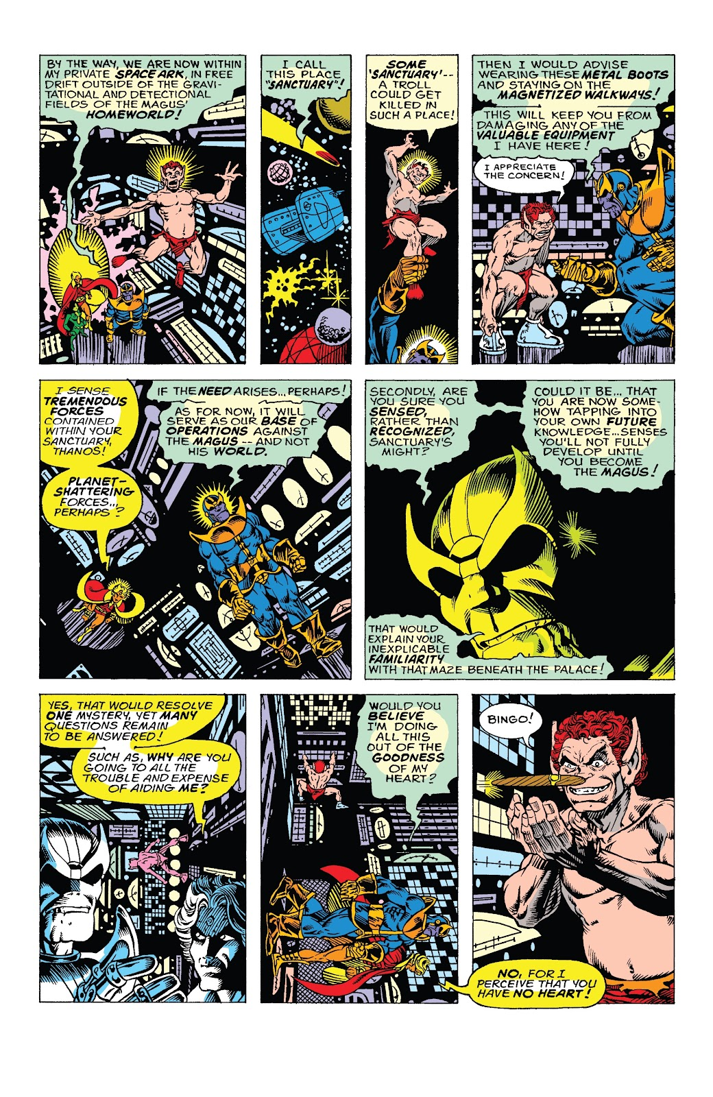 Read online Marvel Tales: Thanos comic -  Issue # Full - 19