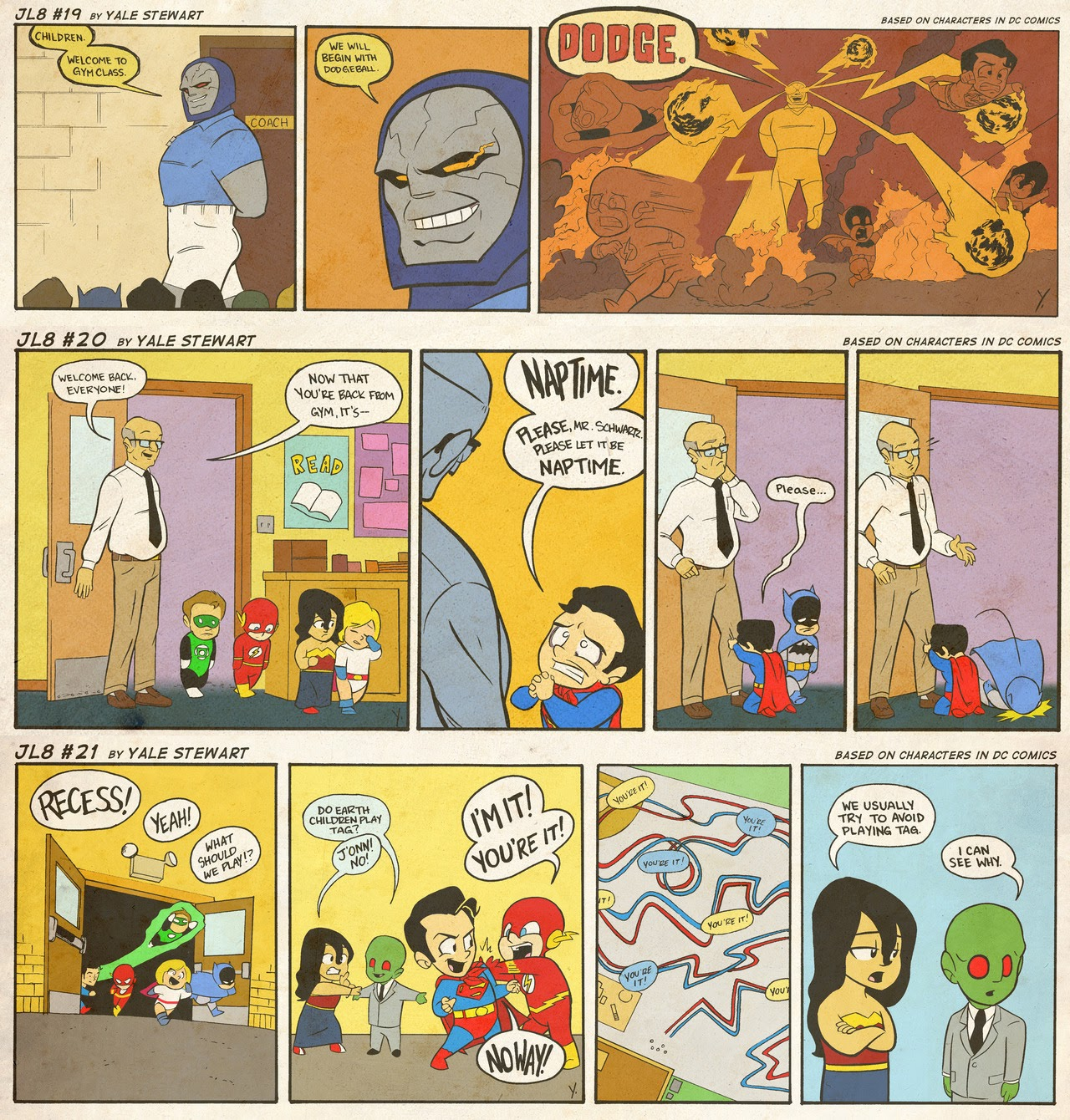 Read online JL8 – The Complete Collection comic -  Issue # TPB (Part 1) - 9