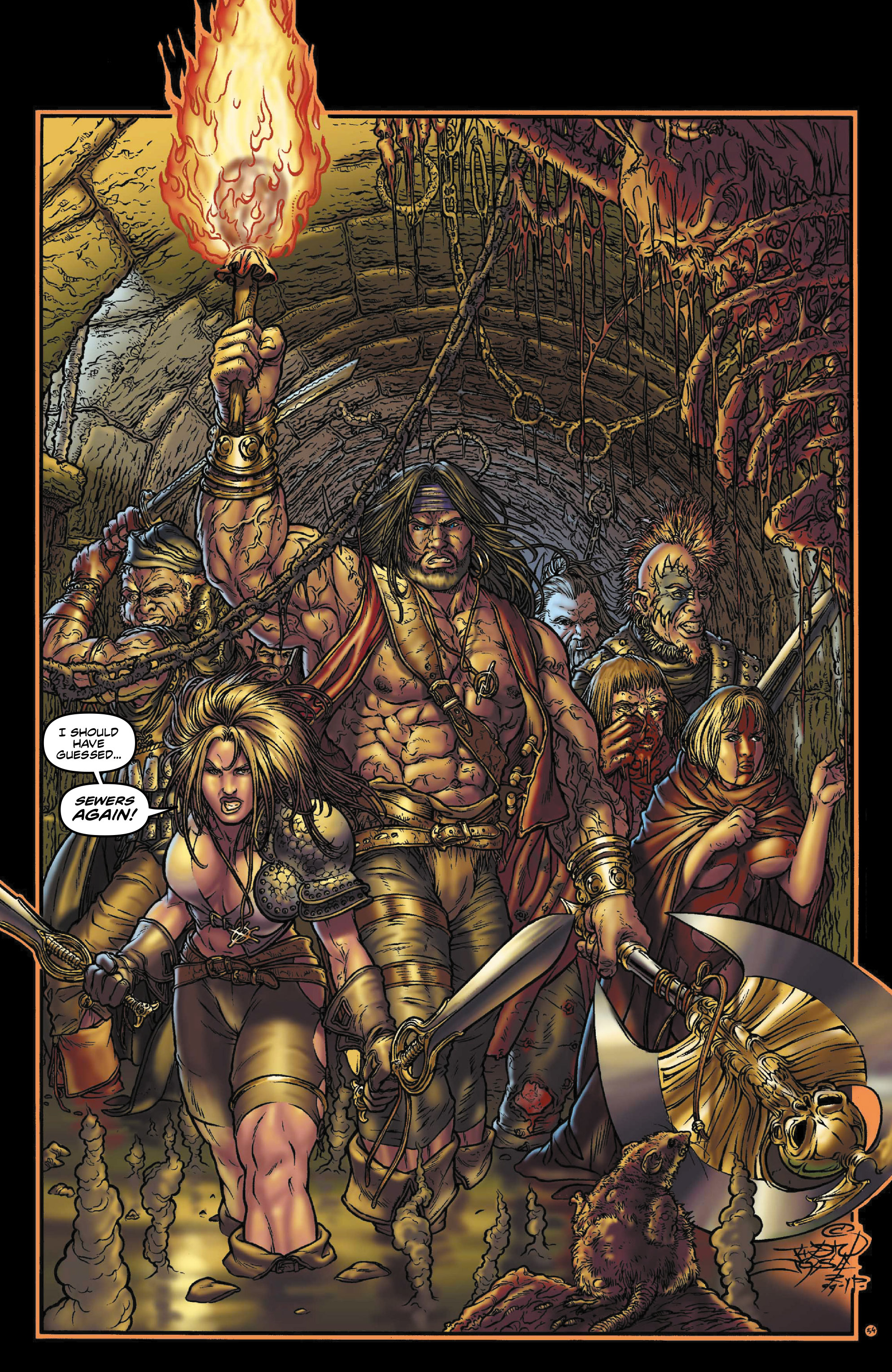 Read online Rogues!: The Burning Heart comic -  Issue #3 - 12