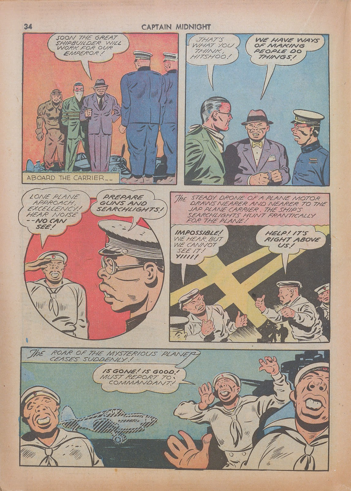 Captain Midnight (1942) issue 7 - Page 34