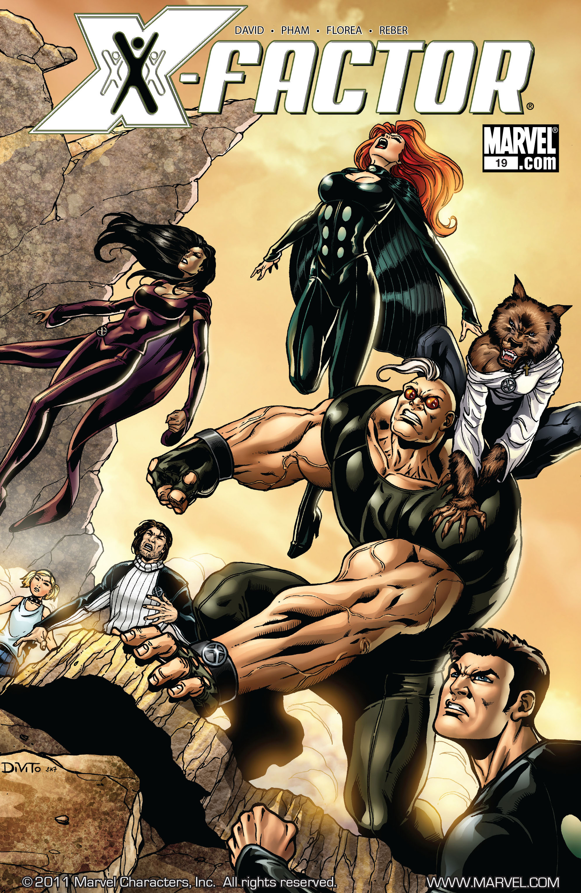 Read online X-Factor (2006) comic -  Issue #19 - 1