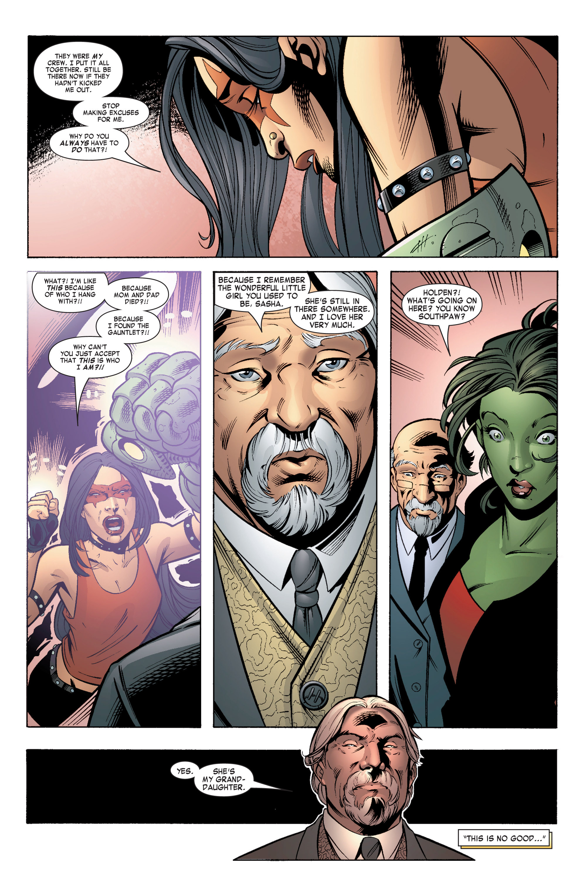 Read online She-Hulk (2004) comic -  Issue #5 - 19