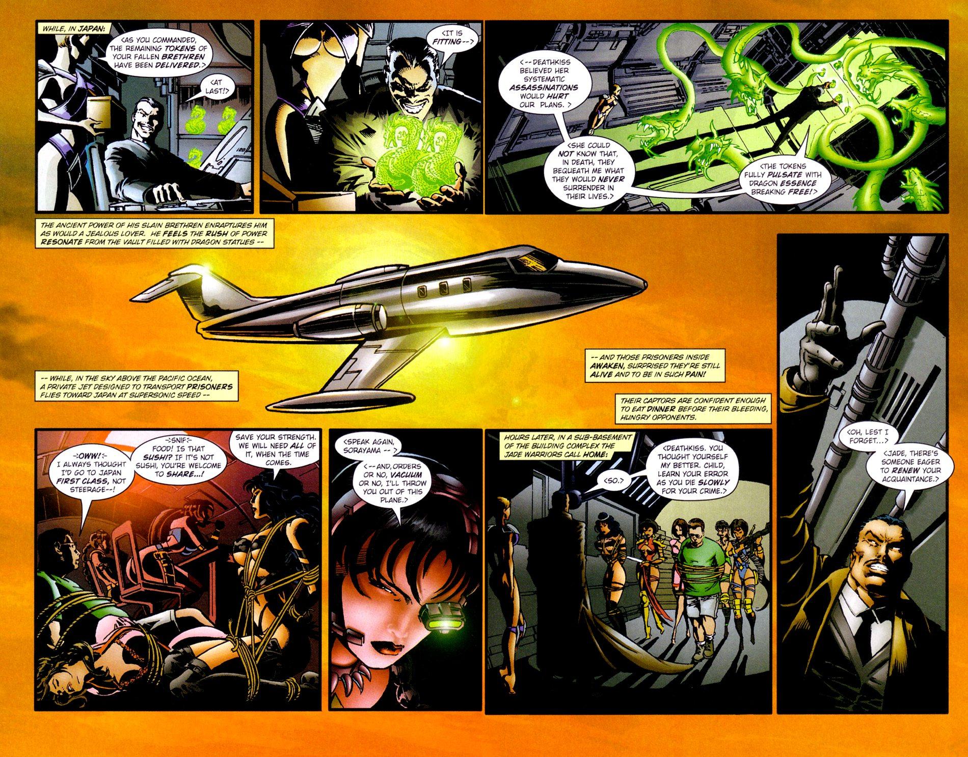 Read online Jade Warriors comic -  Issue #3 - 14