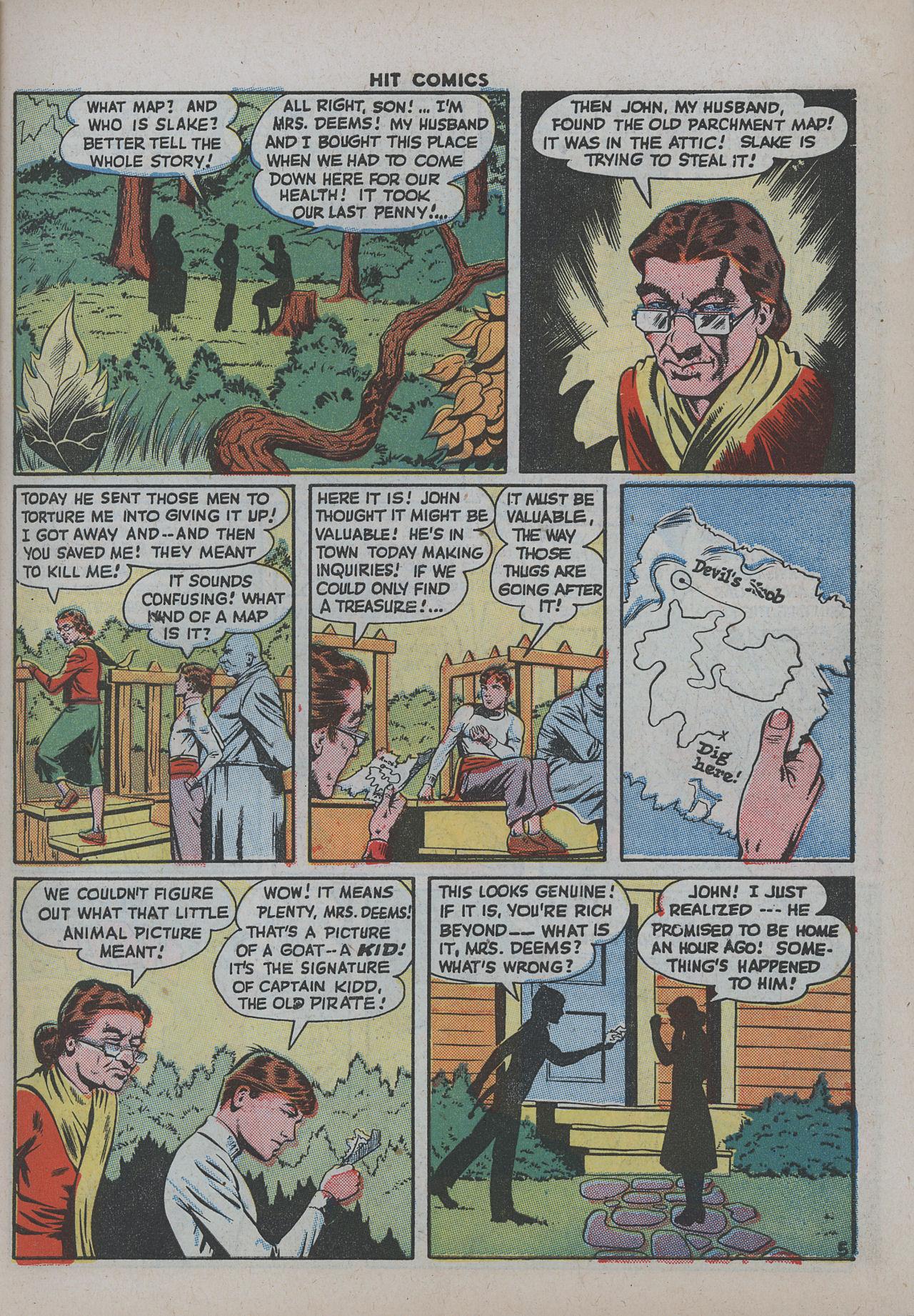 Read online Hit Comics comic -  Issue #38 - 10