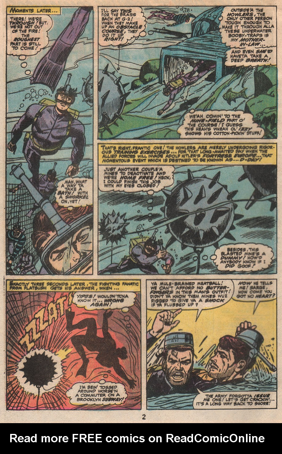 Read online Sgt. Fury comic -  Issue #133 - 4