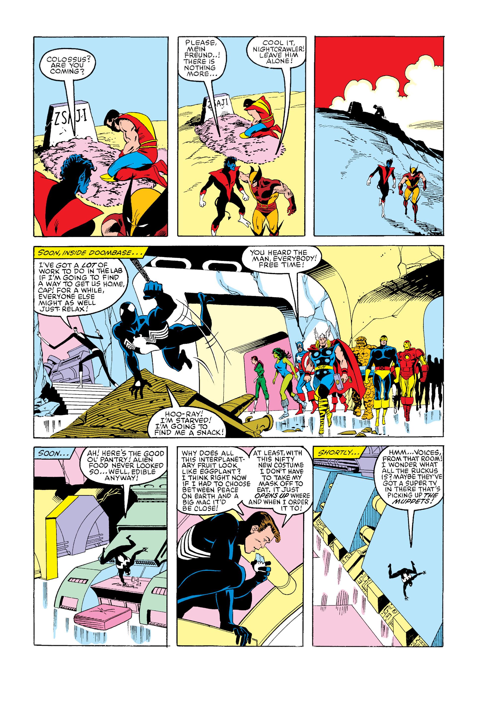 Read online Secret Wars (1985) comic -  Issue #12 - 36