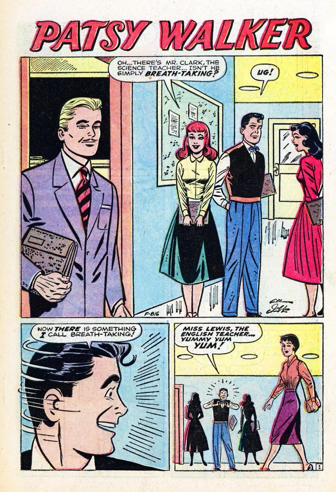 Read online Patsy Walker comic -  Issue #58 - 3