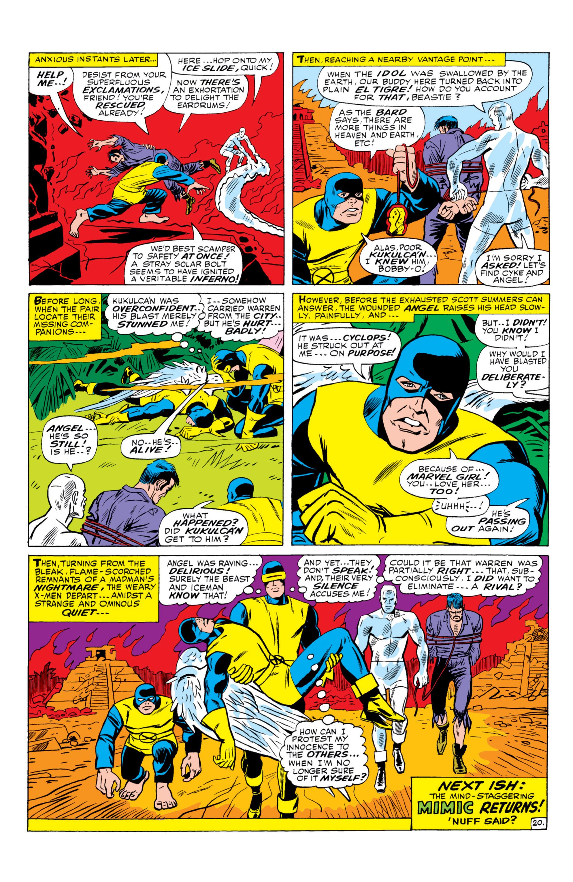 Read online Uncanny X-Men (1963) comic -  Issue #26 - 21