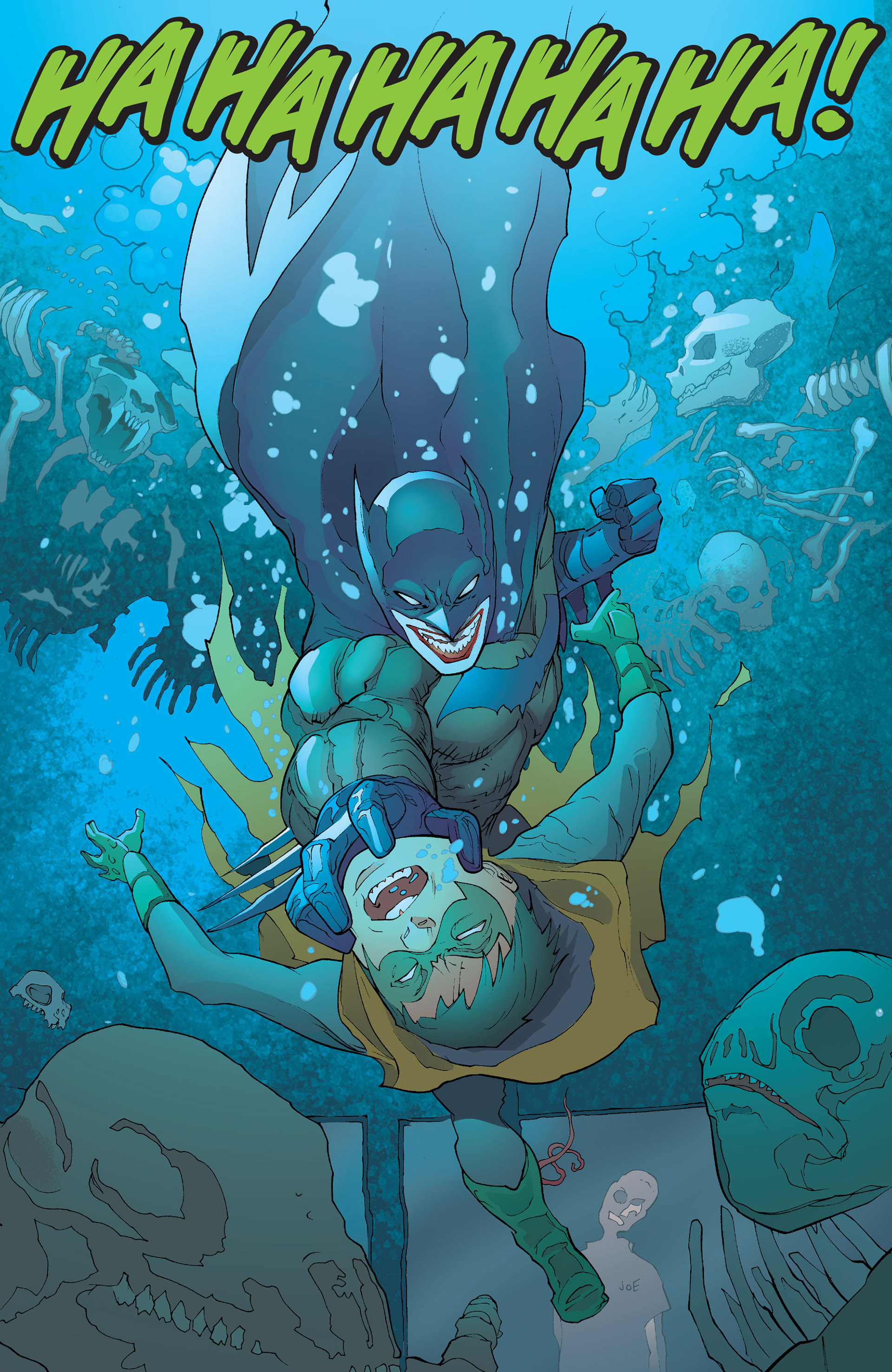 Read online Batman and Robin (2011) comic -  Issue #16 - 11