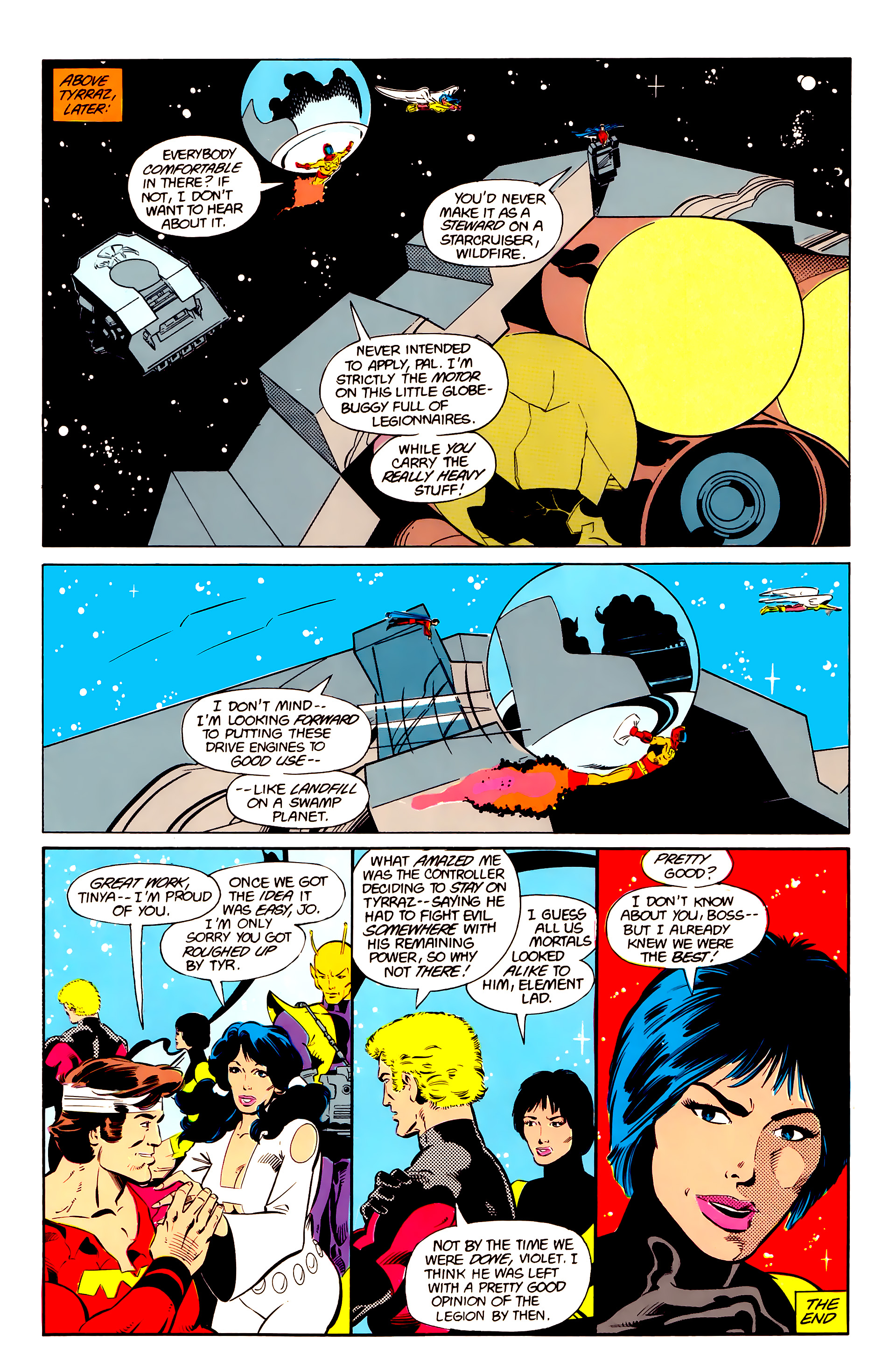 Legion of Super-Heroes (1984) 20 Page 22