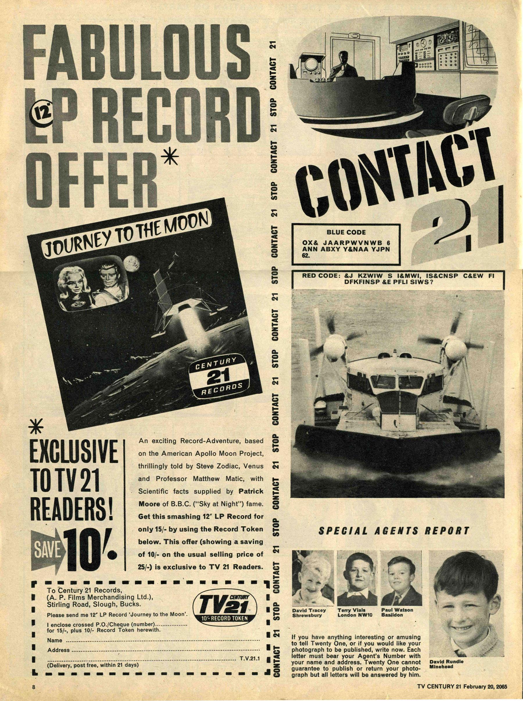Read online TV Century 21 (TV 21) comic -  Issue #5 - 8