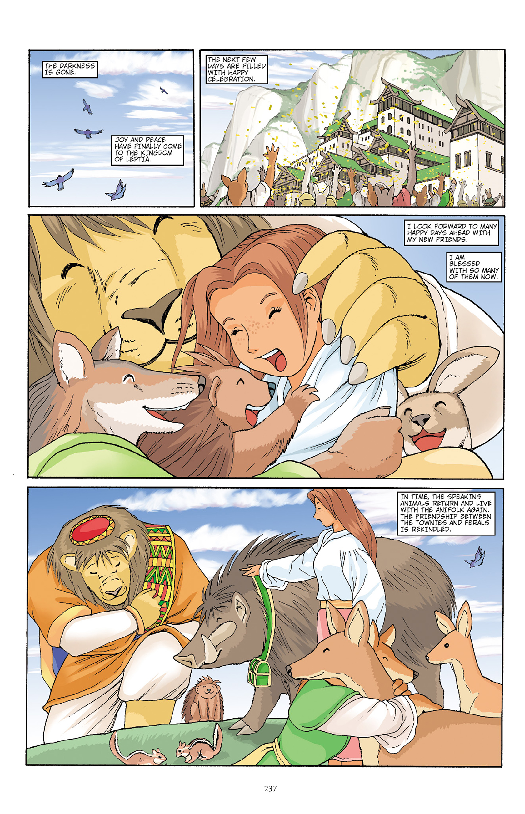 Read online Courageous Princess comic -  Issue # TPB 1 - 233