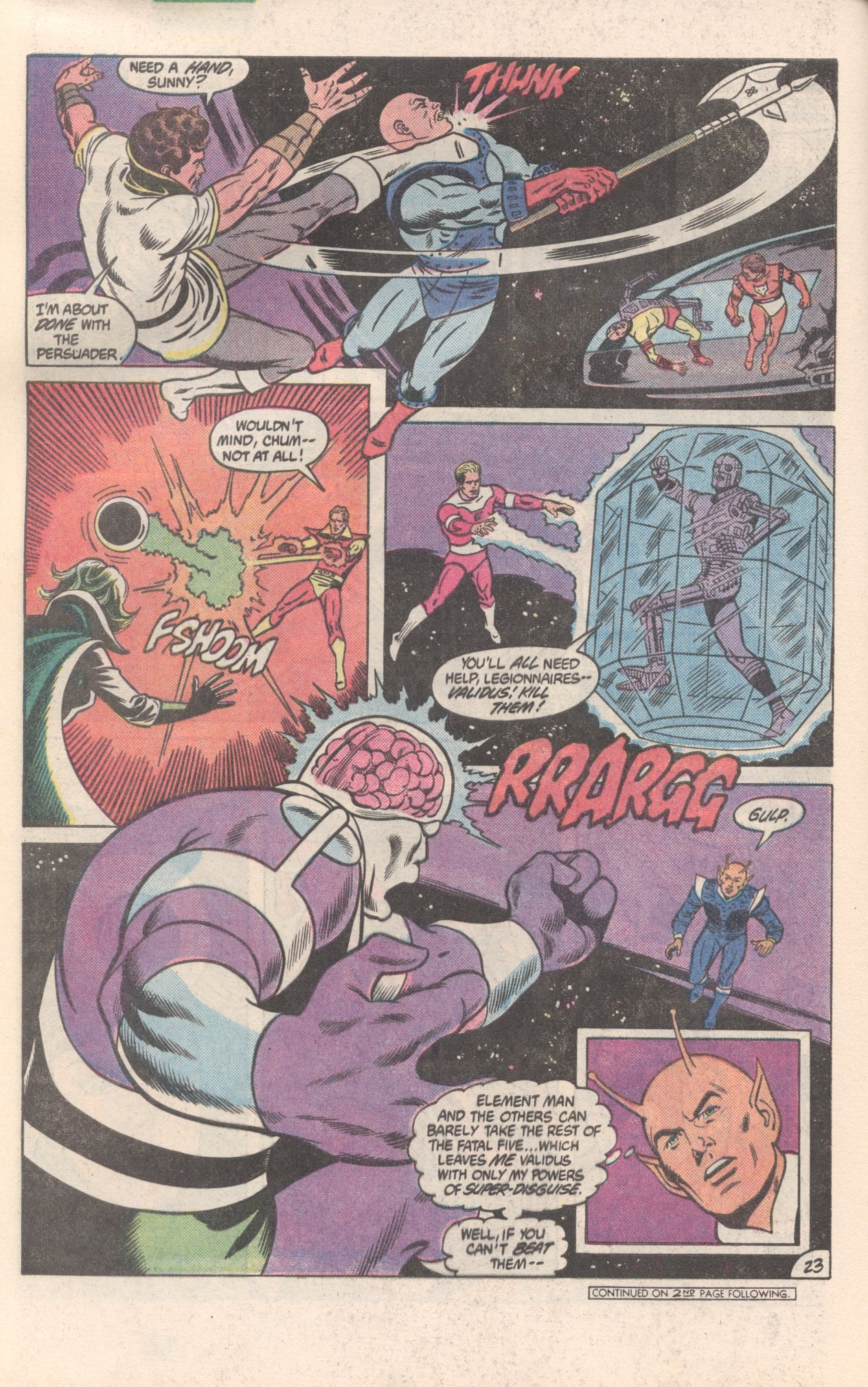 Legion of Super-Heroes (1980) 300 Page 23