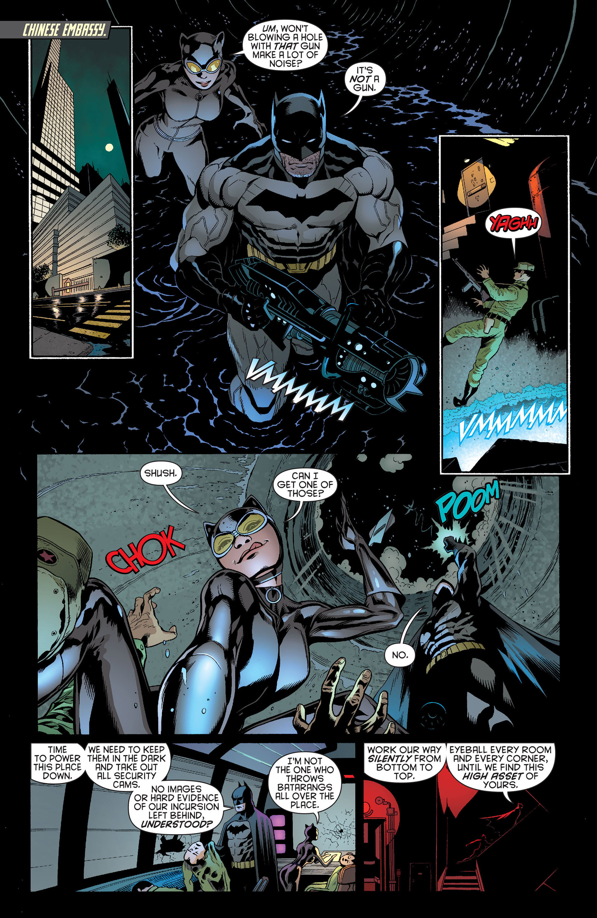 Read online Batman and Robin (2011) comic -  Issue #22 - Batman and Catwoman - 11