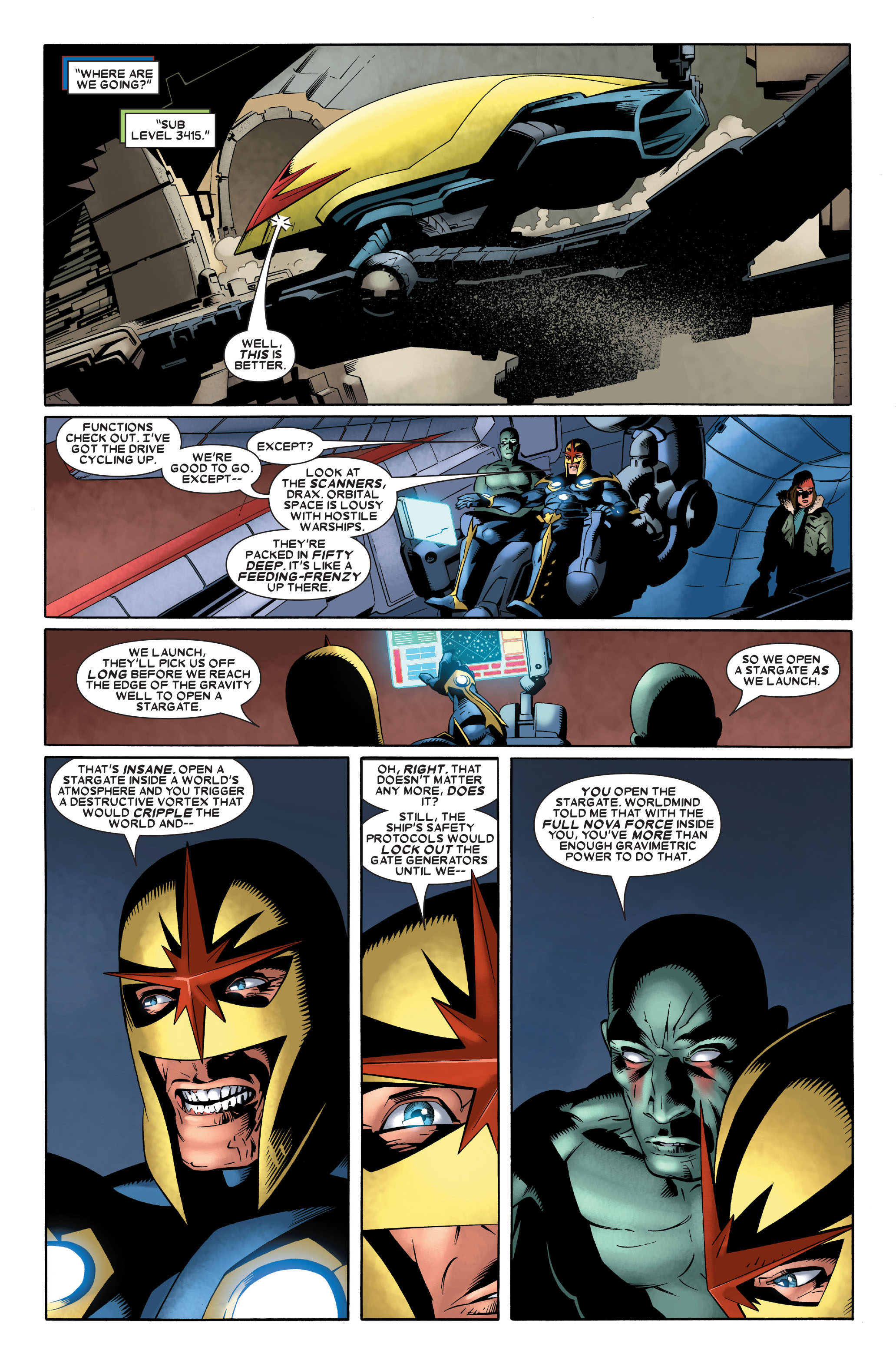 Read online Annihilation: Nova comic -  Issue #2 - 16