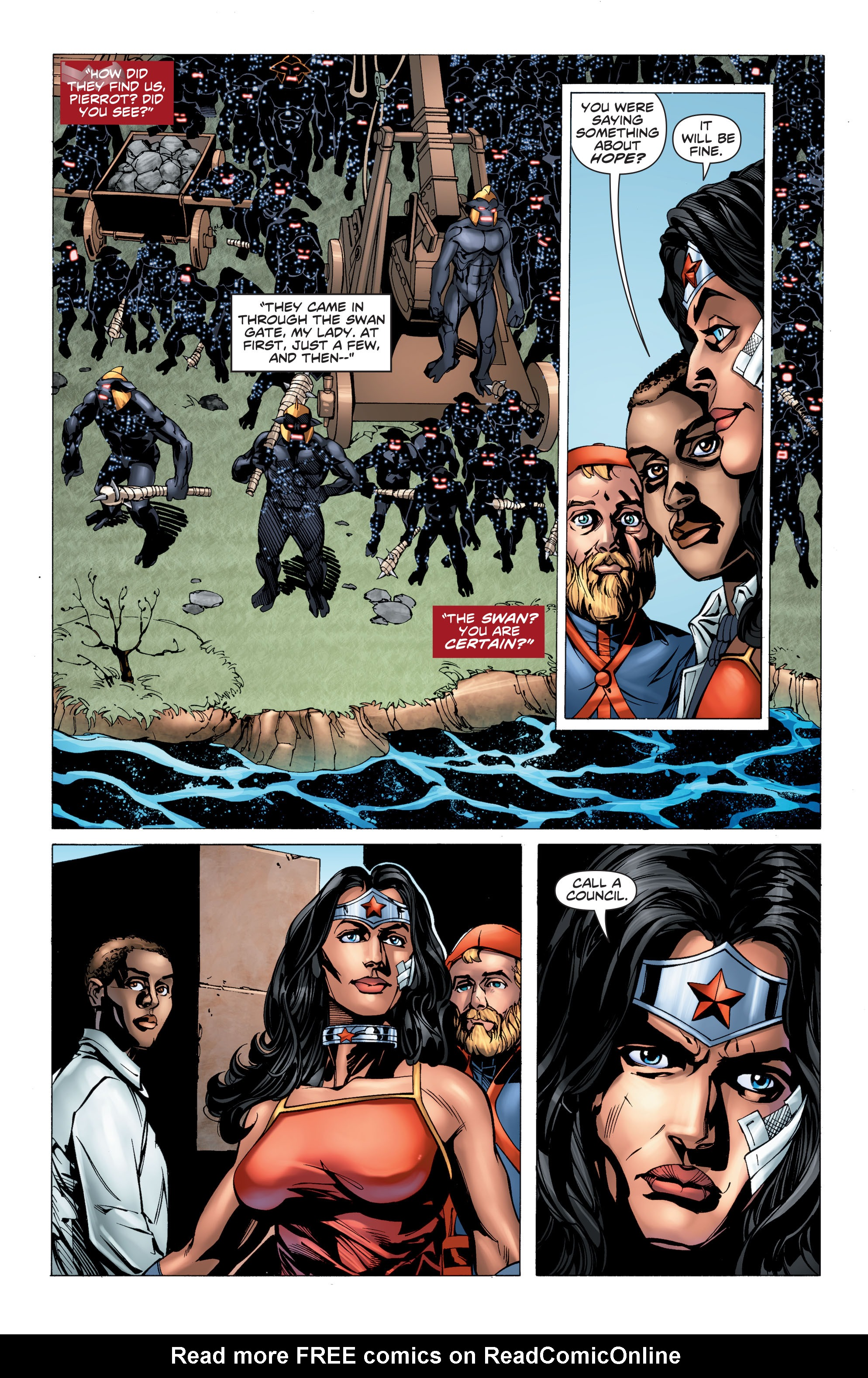 Read online Wonder Woman: Futures End comic -  Issue # Full - 13