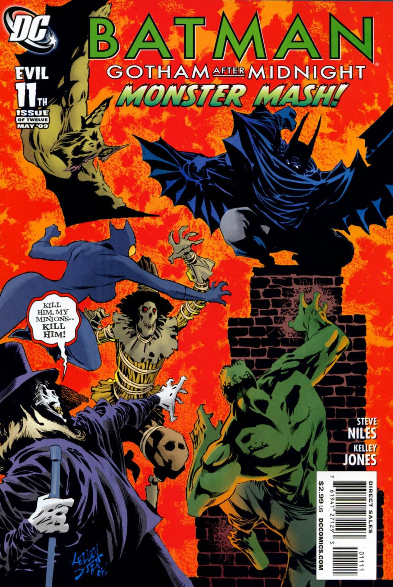 Batman: Gotham After Midnight 11 Page 1