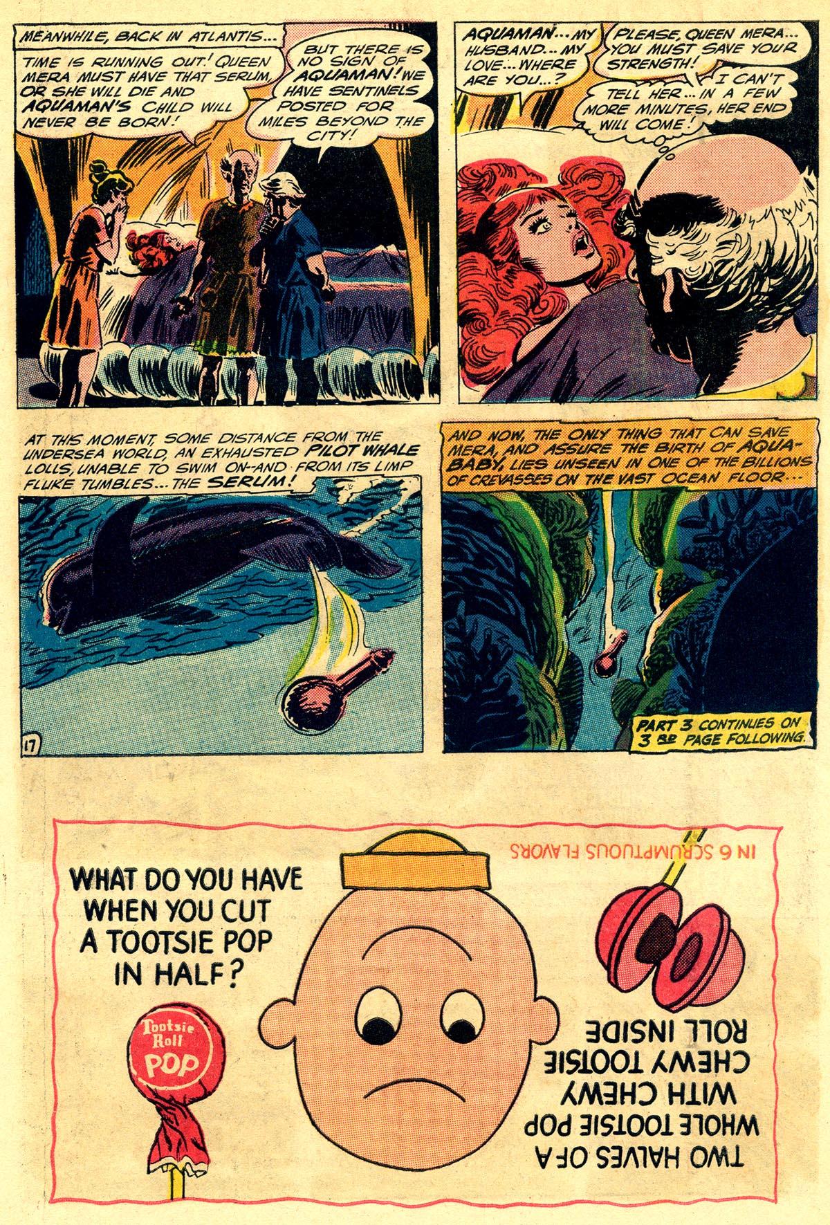 Read online Aquaman (1962) comic -  Issue #23 - 22