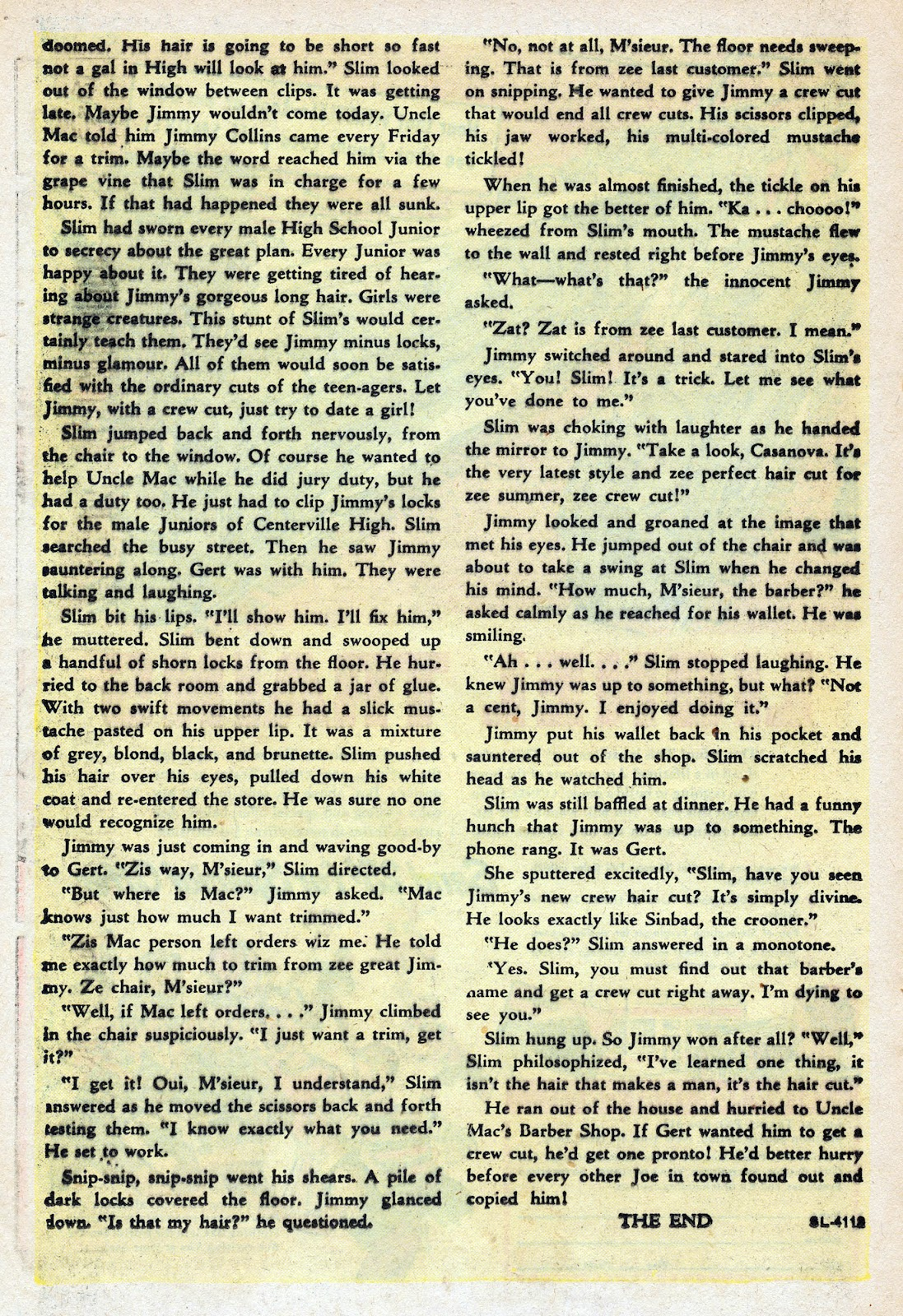 Read online Nellie The Nurse (1945) comic -  Issue #17 - 20