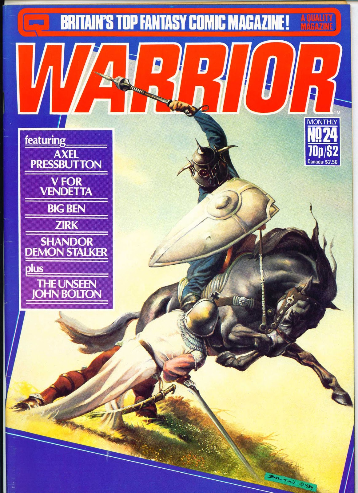 Warrior 24 Page 1