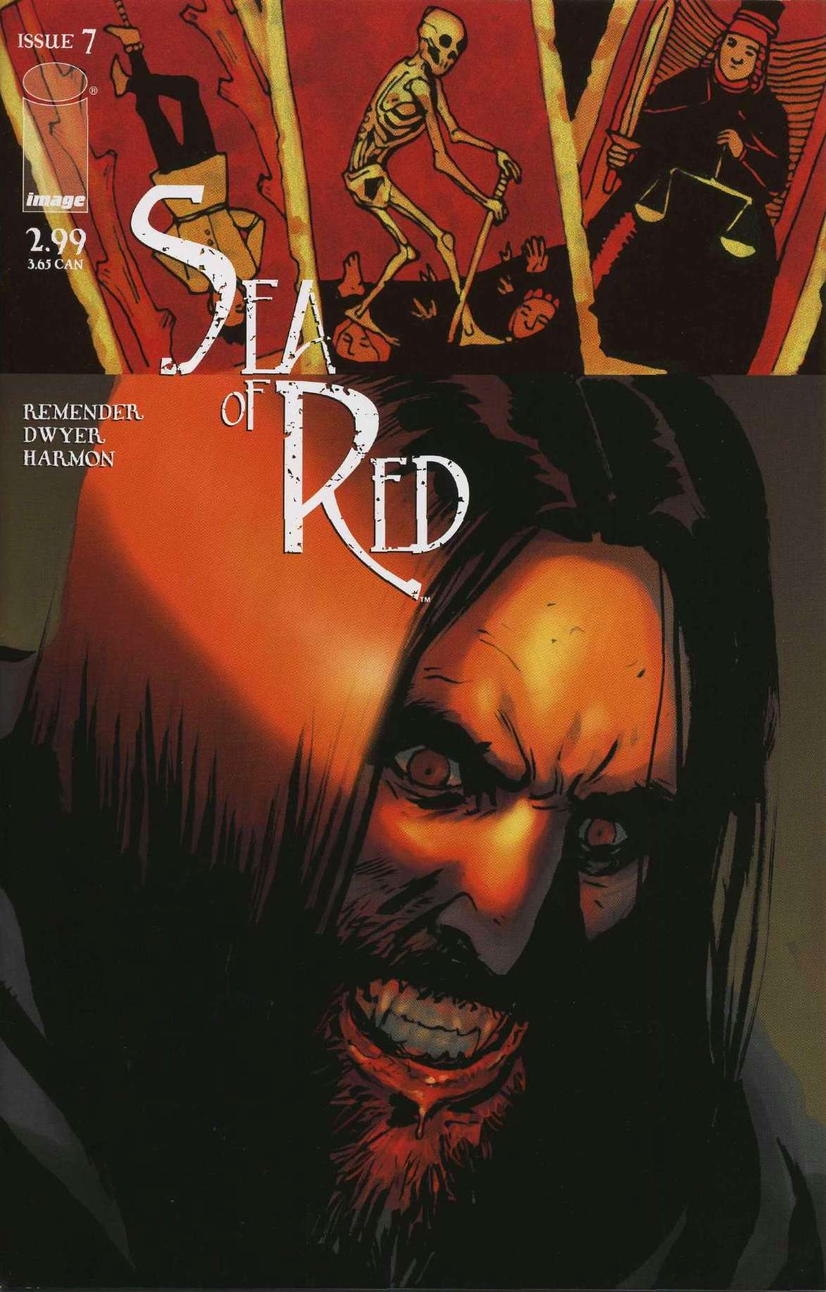 Read online Sea of Red comic -  Issue #7 - 1