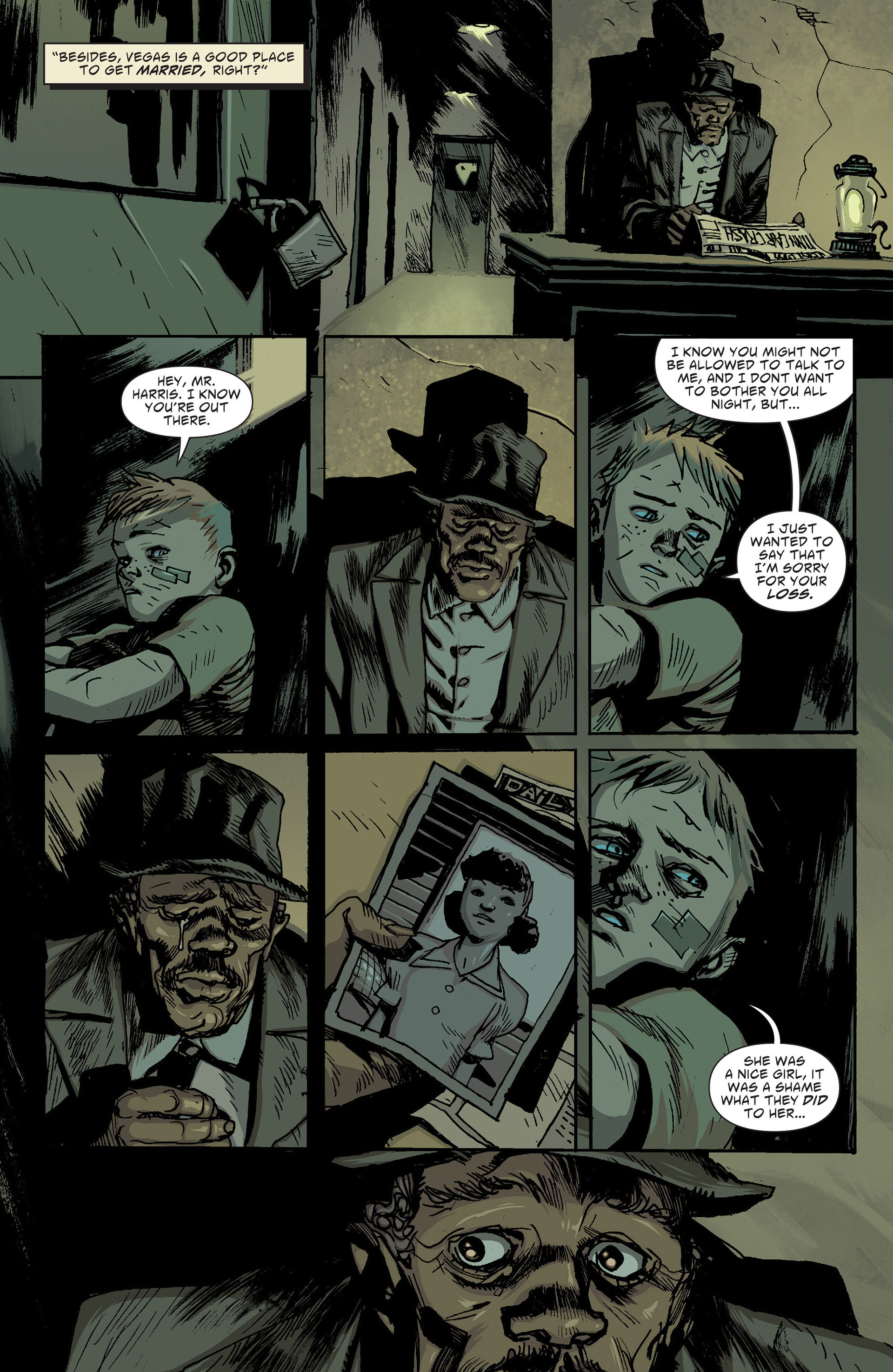 Read online American Vampire: The Long Road To Hell comic -  Issue # Full - 19