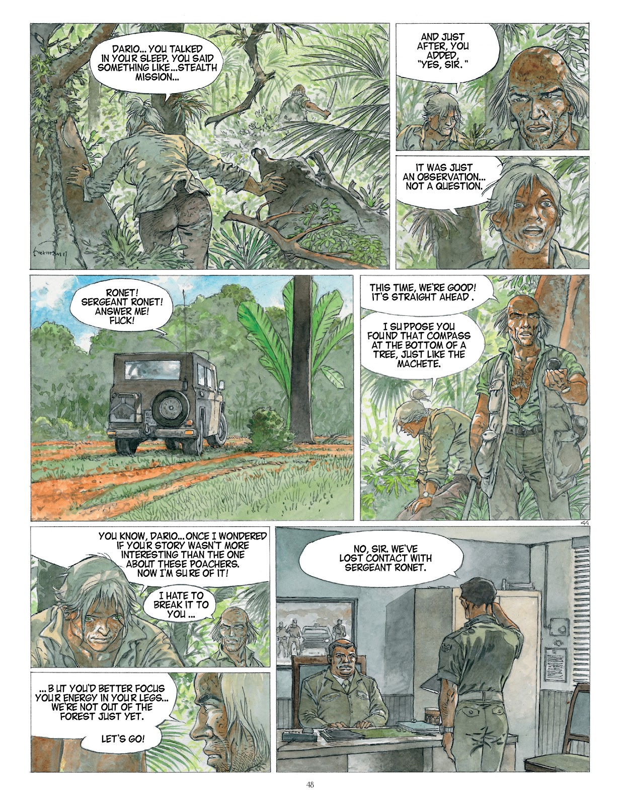 Read online Afrika comic -  Issue # TPB - 48