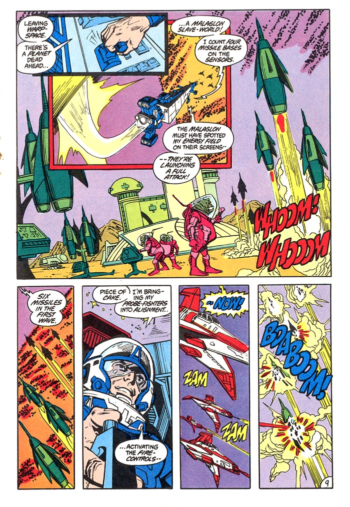 Read online Atari Force (1982) comic -  Issue #4 - 11