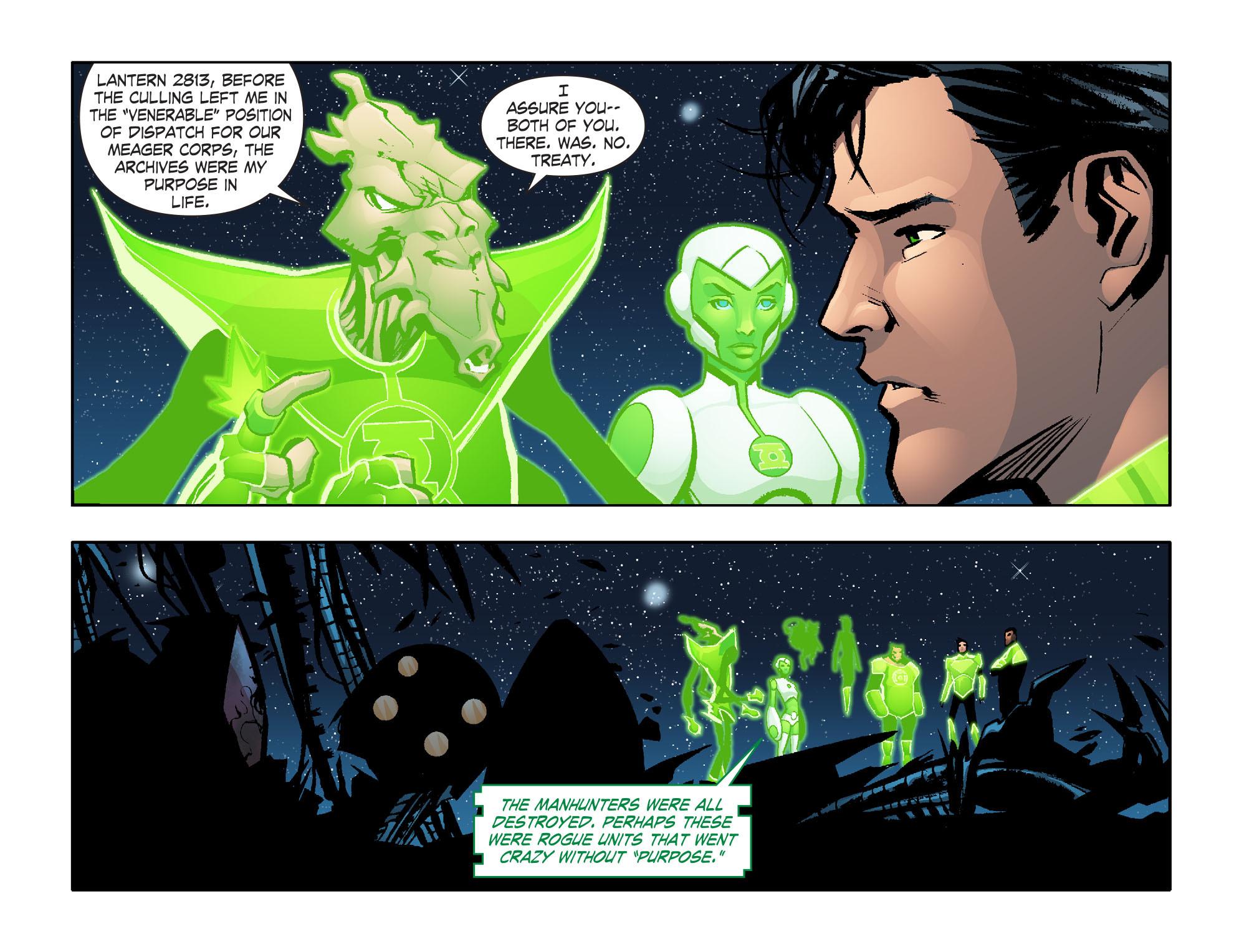 Read online Smallville: Lantern [I] comic -  Issue #6 - 4