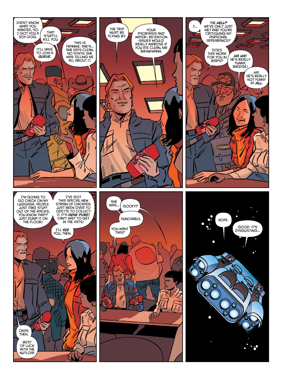 Read online Brink comic -  Issue # TPB 1 - 20