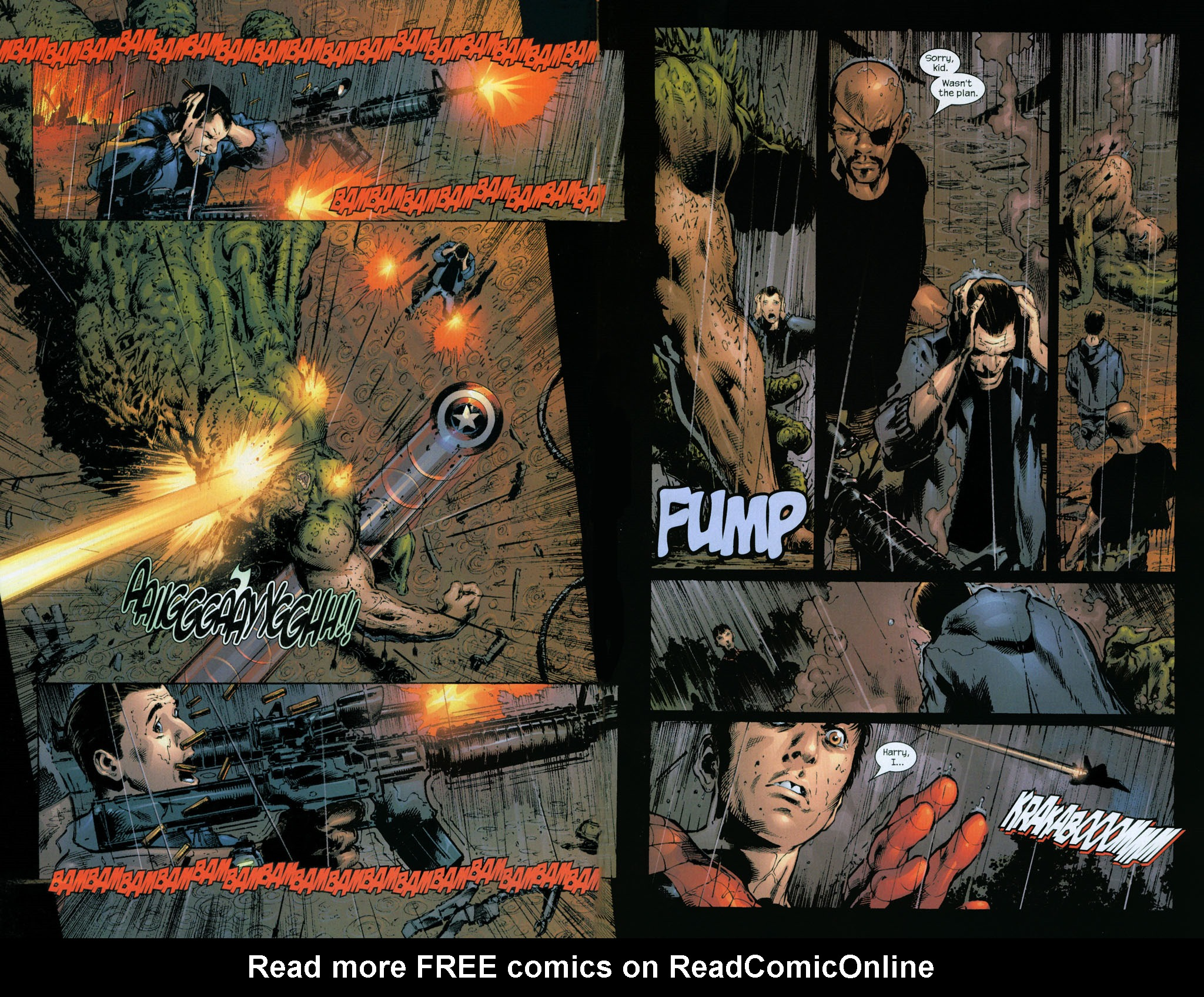 Read online Ultimate Six comic -  Issue #7 - 7