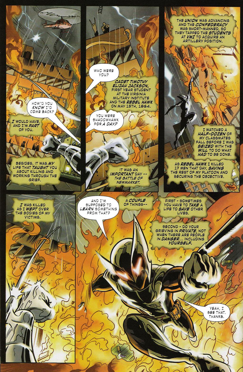 Read online ShadowHawk (2005) comic -  Issue #2 - 12