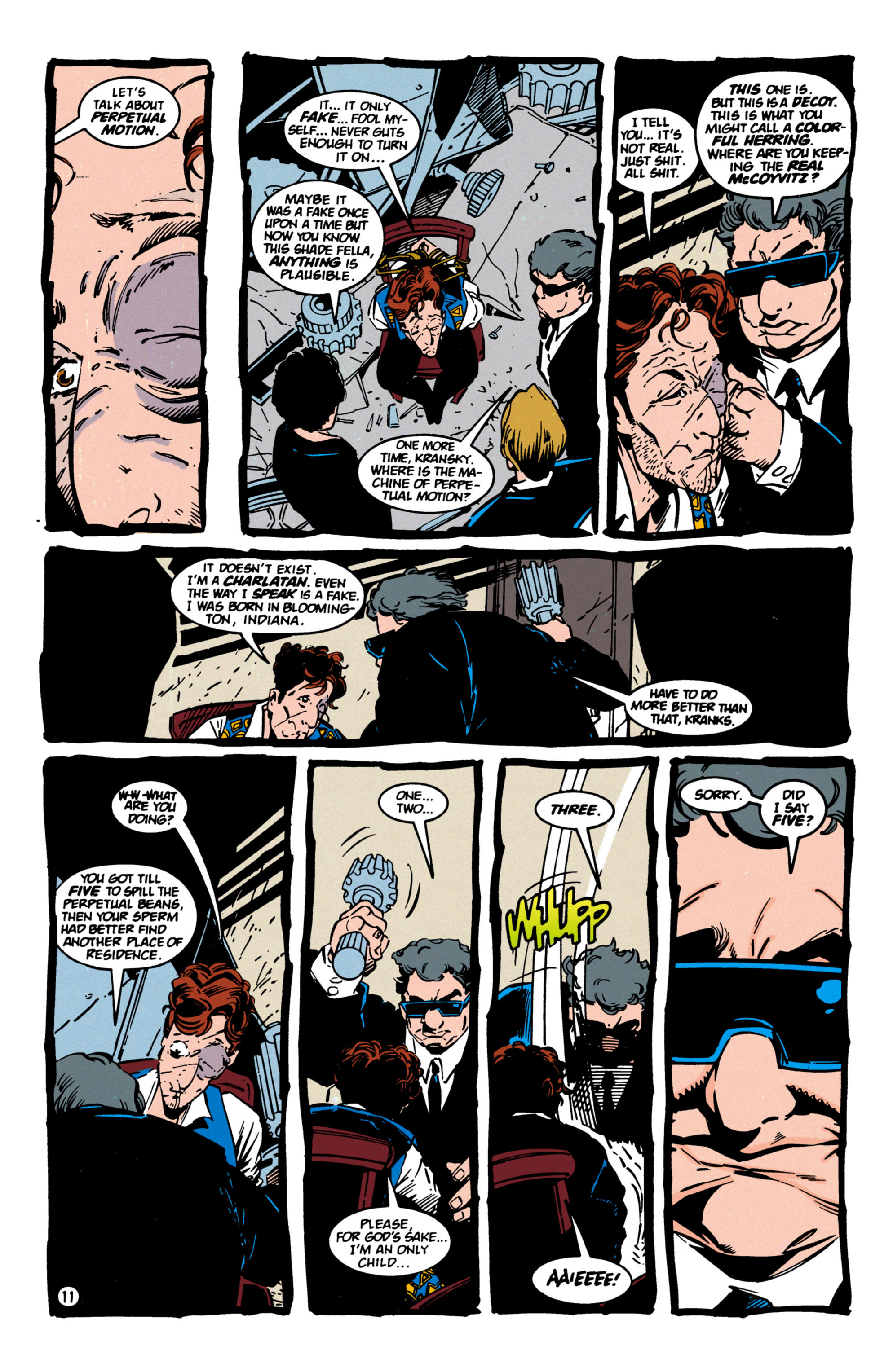 Read online Shade, the Changing Man comic -  Issue #60 - 12