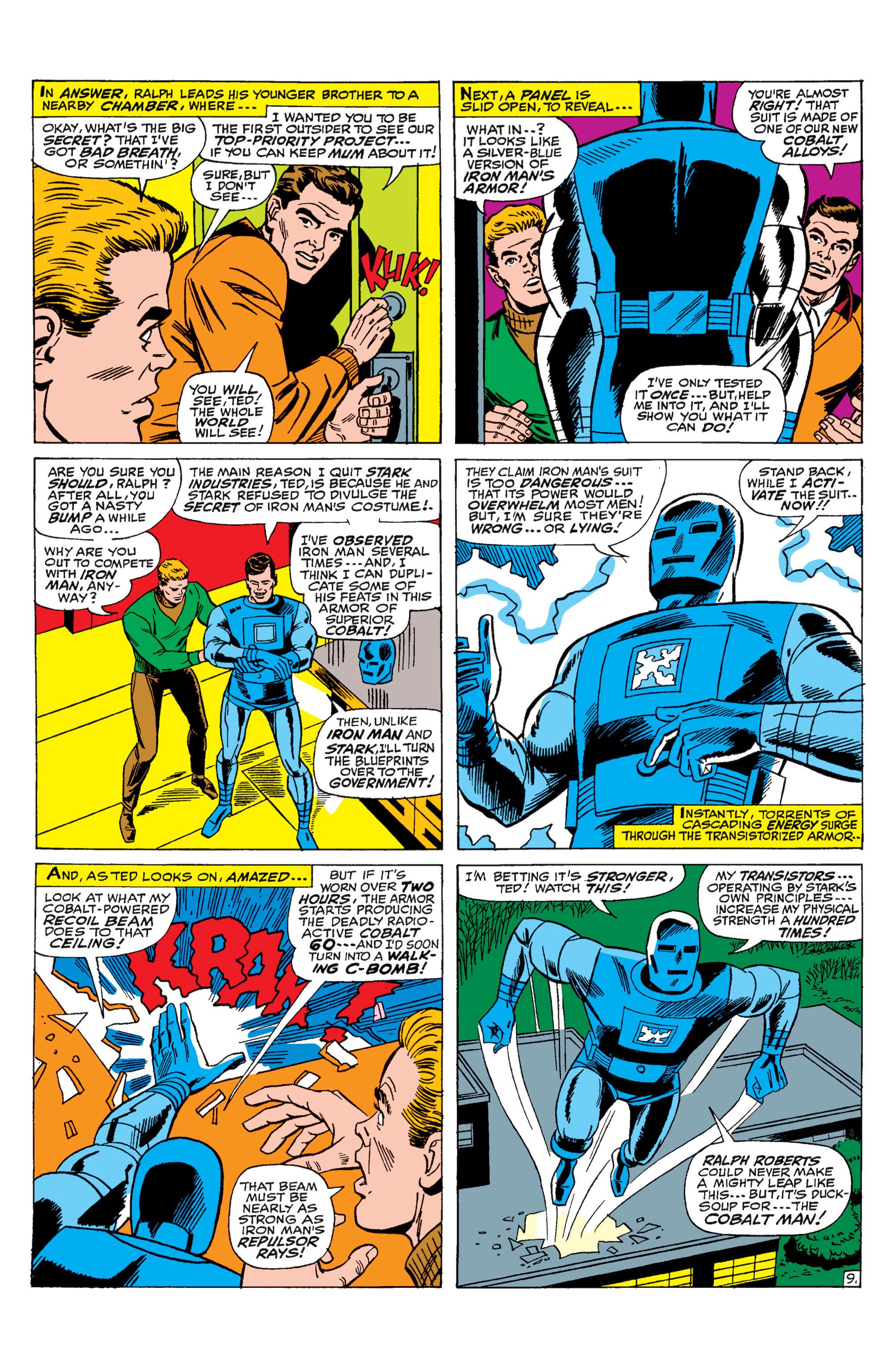 Read online Uncanny X-Men (1963) comic -  Issue #31 - 10