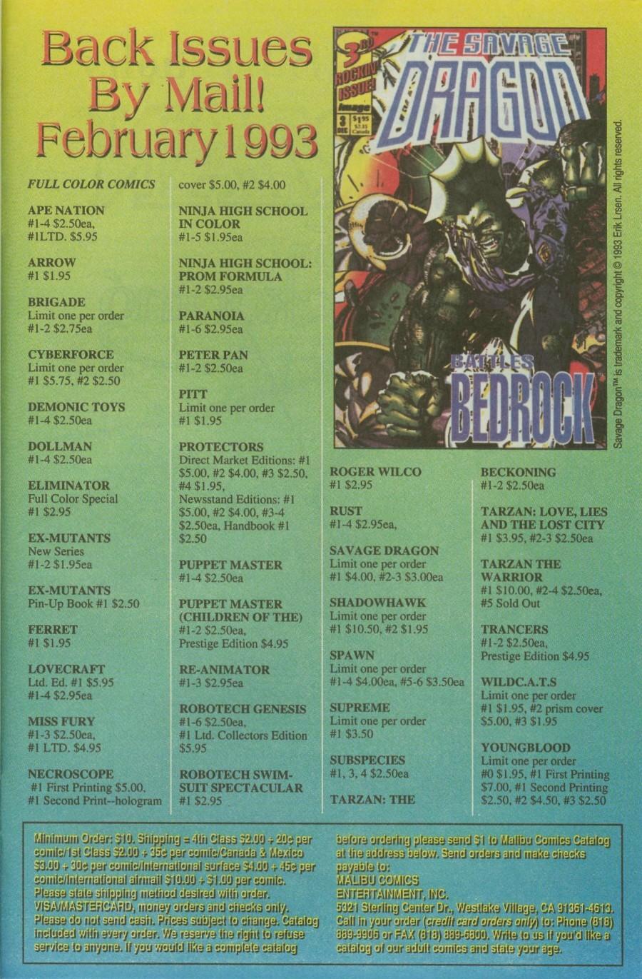 Read online Ex-Mutants comic -  Issue #4 - 32