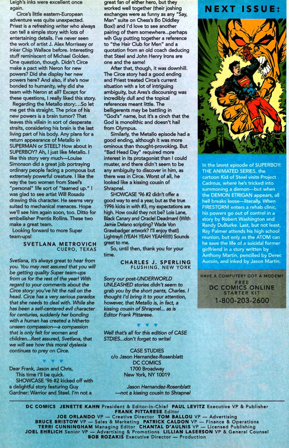 Read online Showcase '96 comic -  Issue #5 - 40