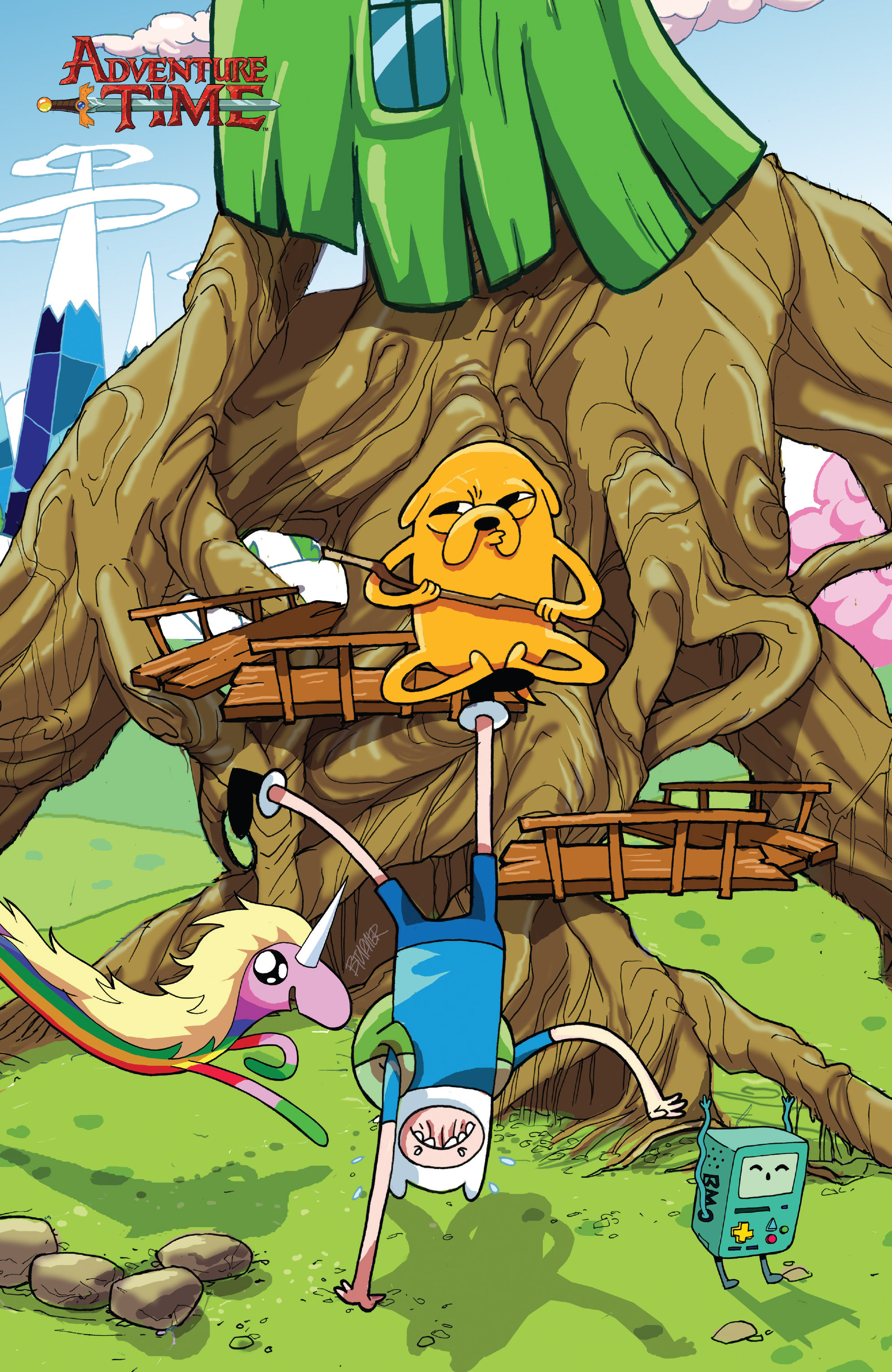 Read online Adventure Time comic -  Issue #23 - 4
