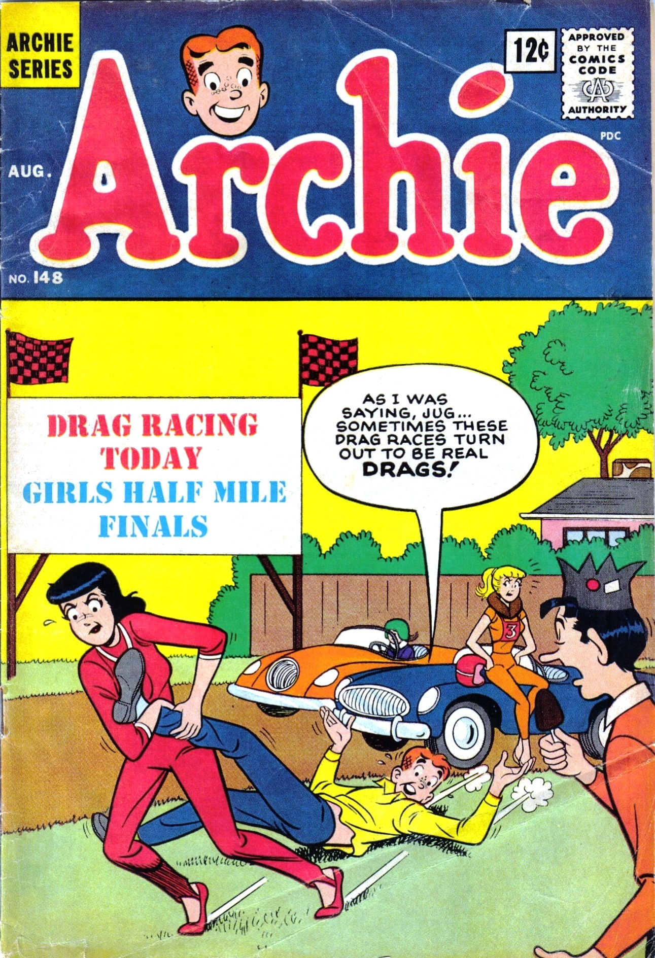 Read online Archie (1960) comic -  Issue #148 - 1