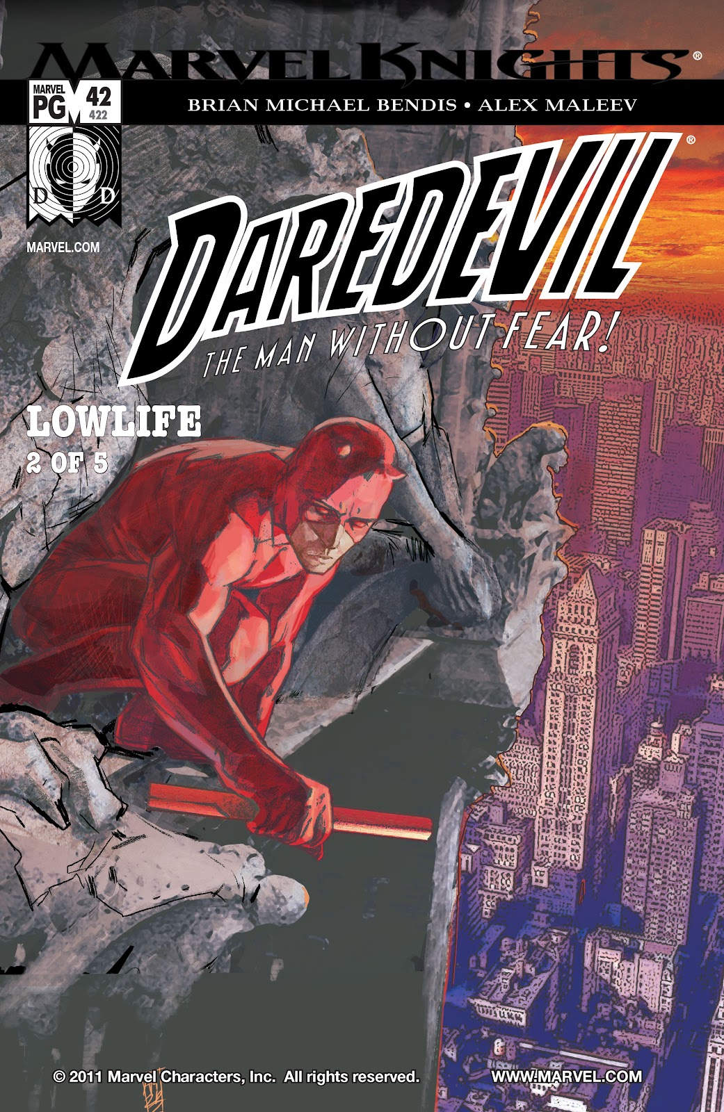 Read online Daredevil (1998) comic -  Issue # _Ultimate_Collection TPB 2 (Part 1) - 26