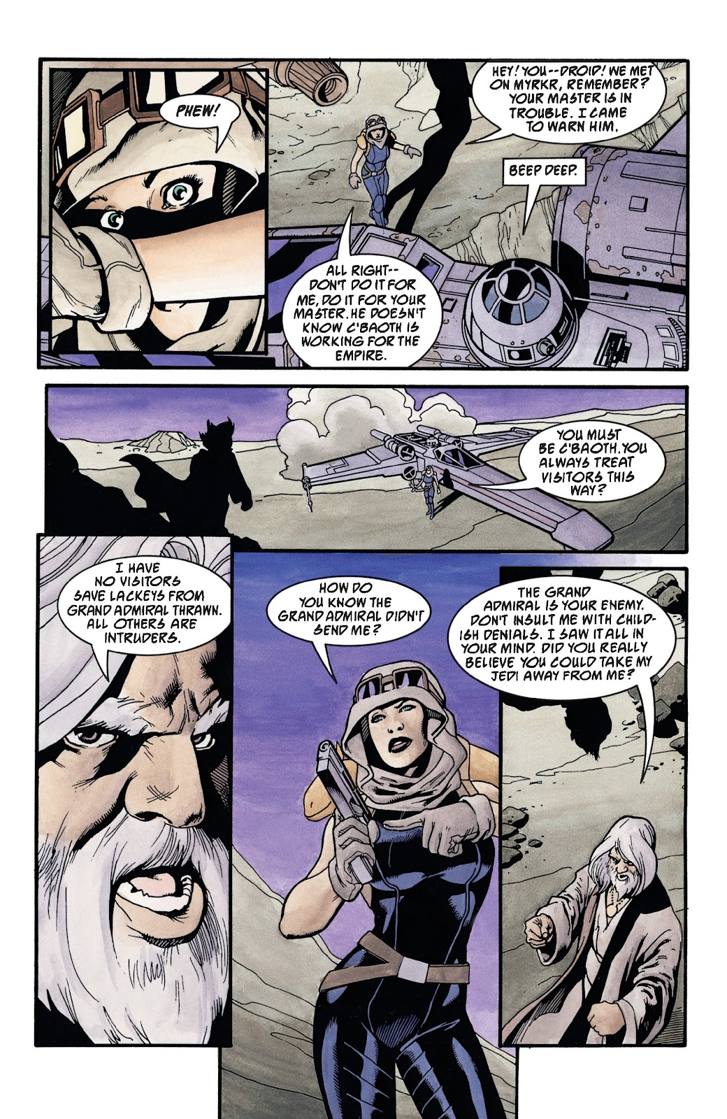 Read online Star Wars Legends: The New Republic - Epic Collection comic -  Issue # TPB 4 (Part 3) - 44