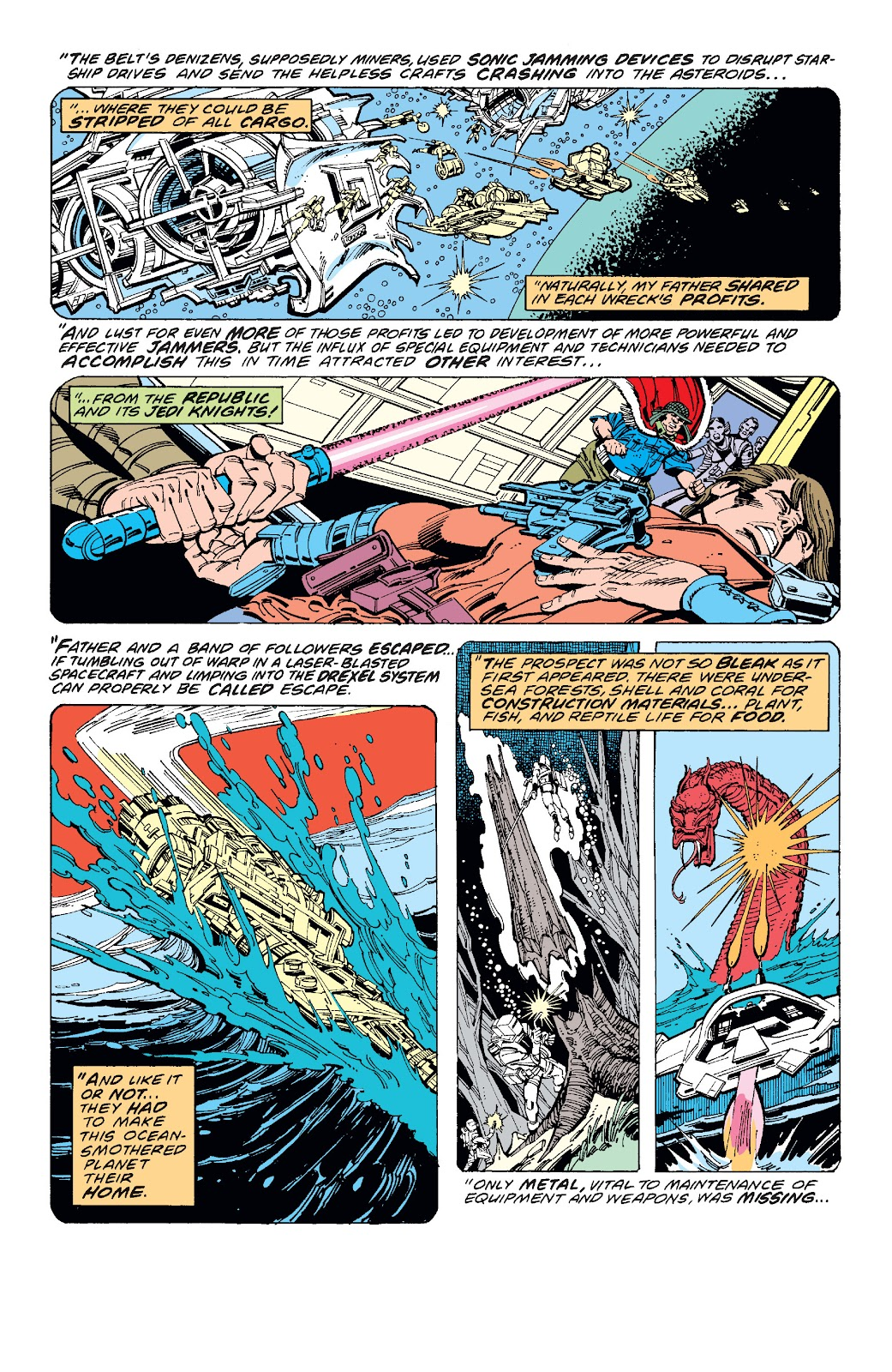 Read online Star Wars Legends: The Original Marvel Years - Epic Collection comic -  Issue # TPB 1 (Part 3) - 34