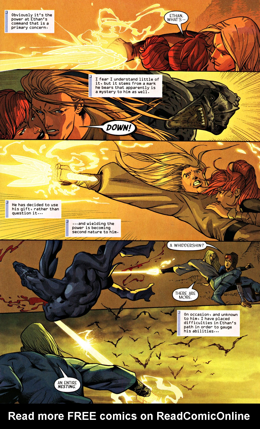 Read online Scion comic -  Issue #28 - 13