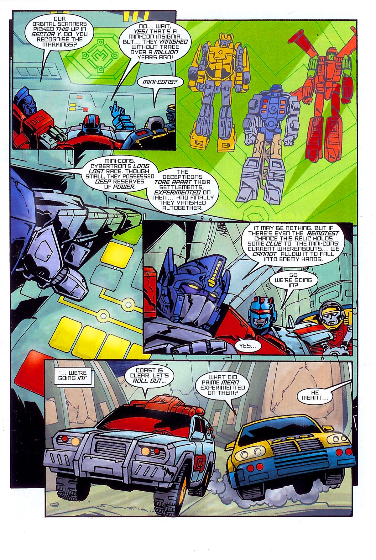 Read online Transformers: The Balance of Power comic -  Issue # Full - 6