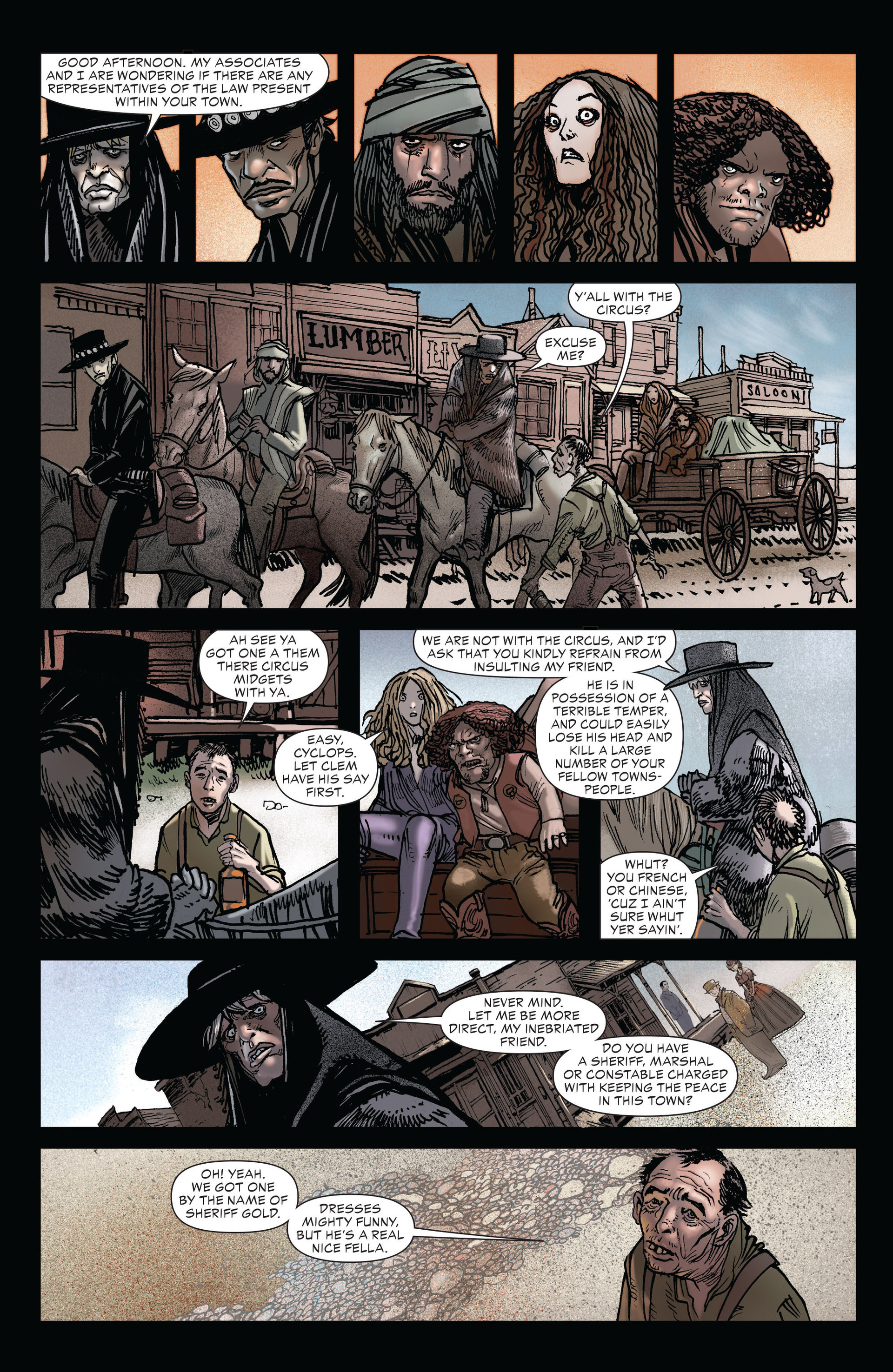 Read online All-Star Western (2011) comic -  Issue #19 - 7