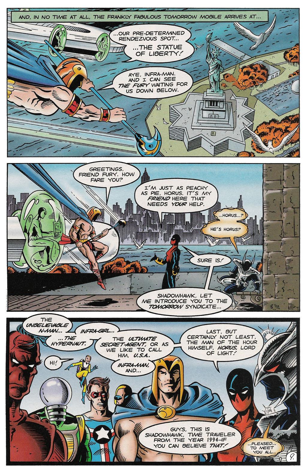 Read online ShadowHawk comic -  Issue #14 - 10