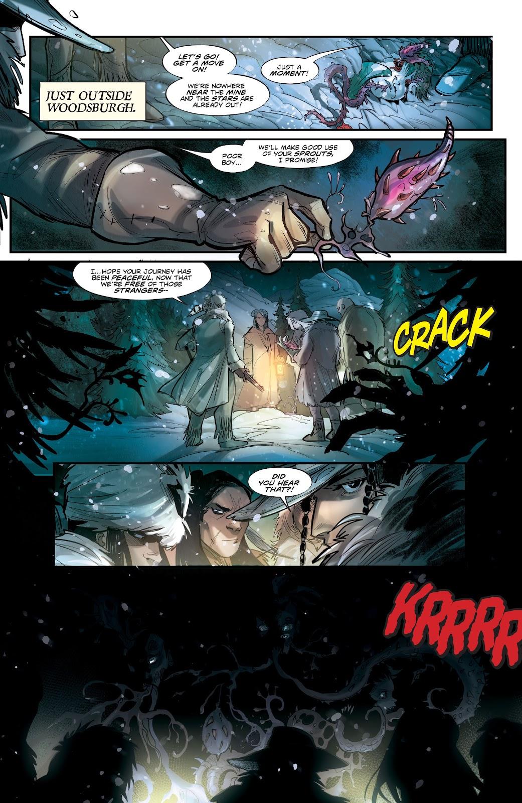 Read online Mirka Andolfo's Mercy comic -  Issue #2 - 17