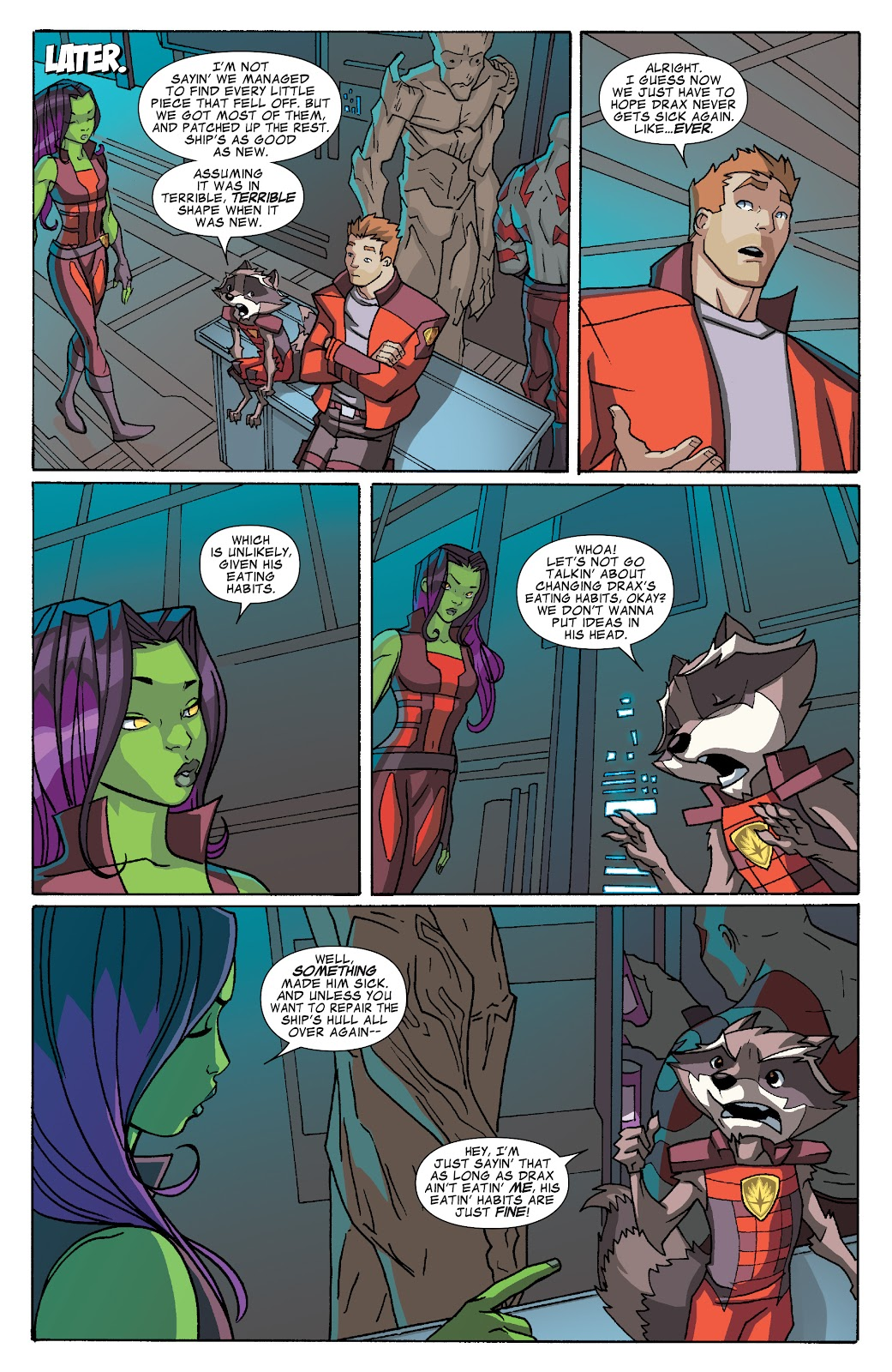 Read online Marvel Universe Guardians of the Galaxy [I] comic -  Issue #3 - 11