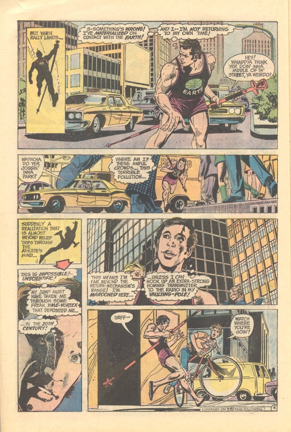 Read online Strange Sports Stories (1973) comic -  Issue #3 - 15