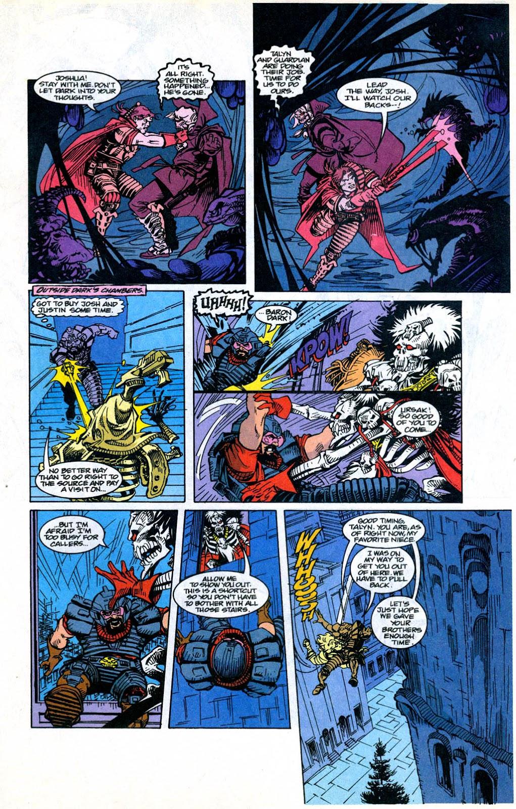 Skeleton Warriors Issue #3 #3 - English 21